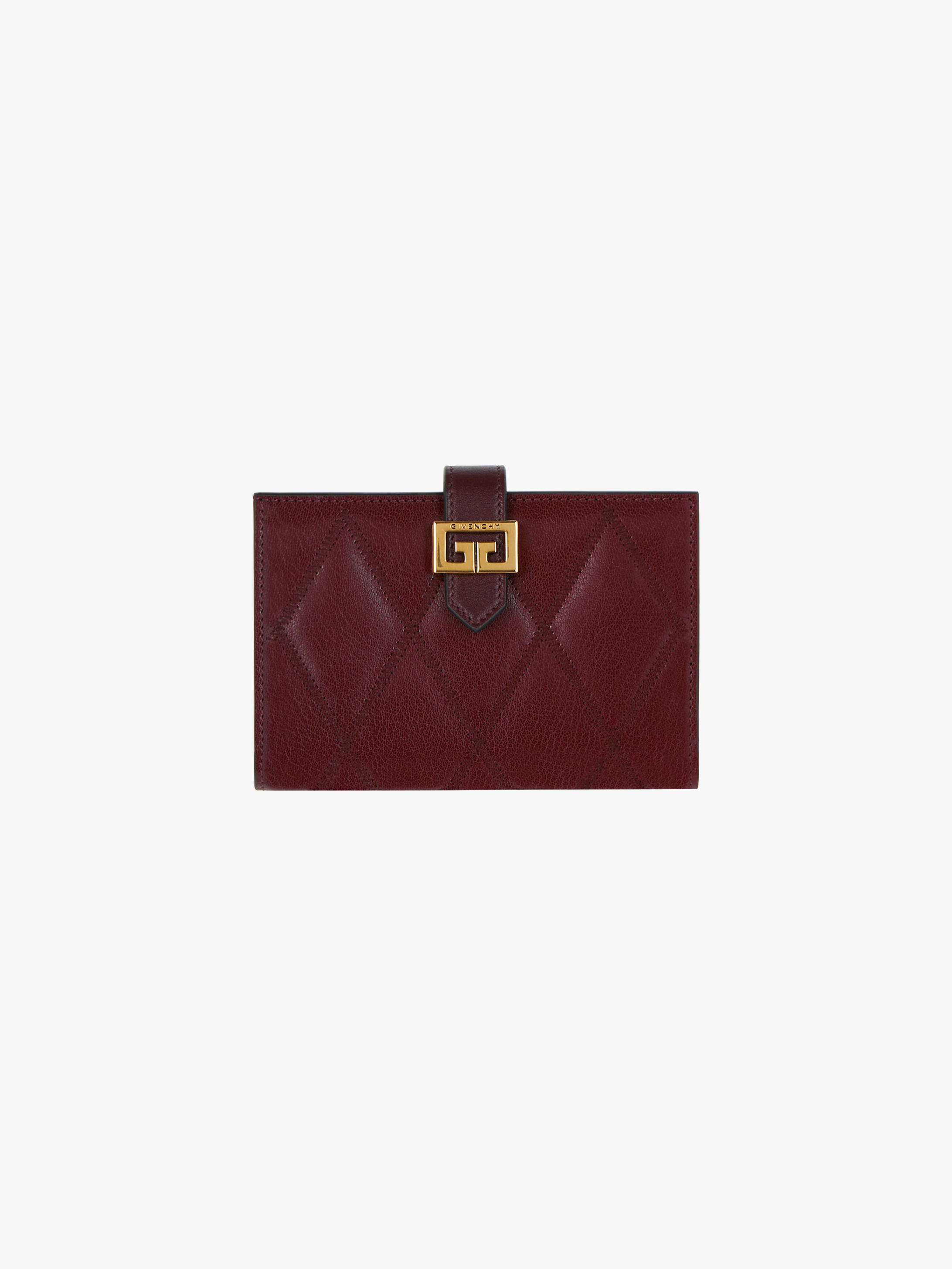 GV3 wallet in diamond leather