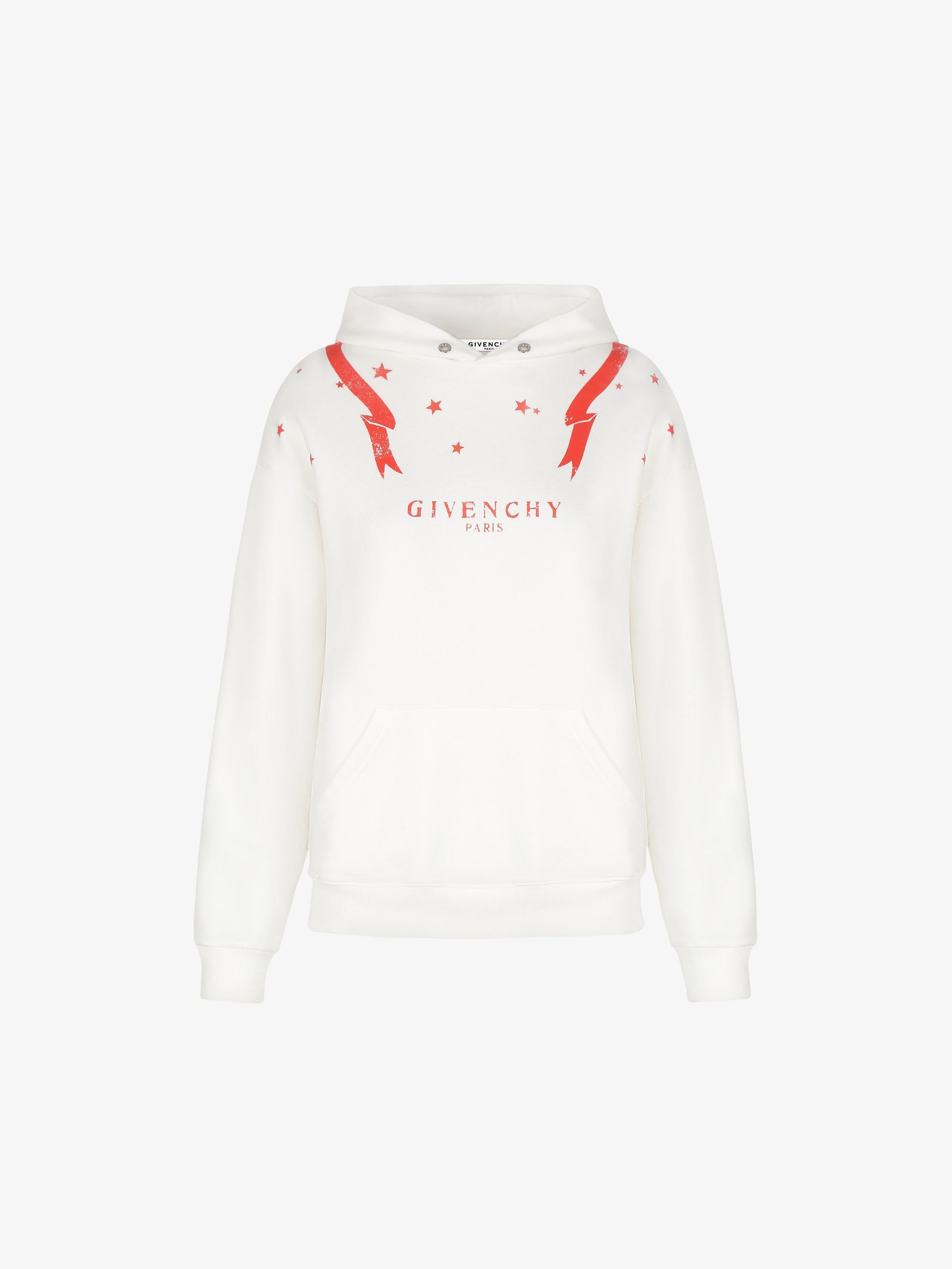 Gemini printed hoodie