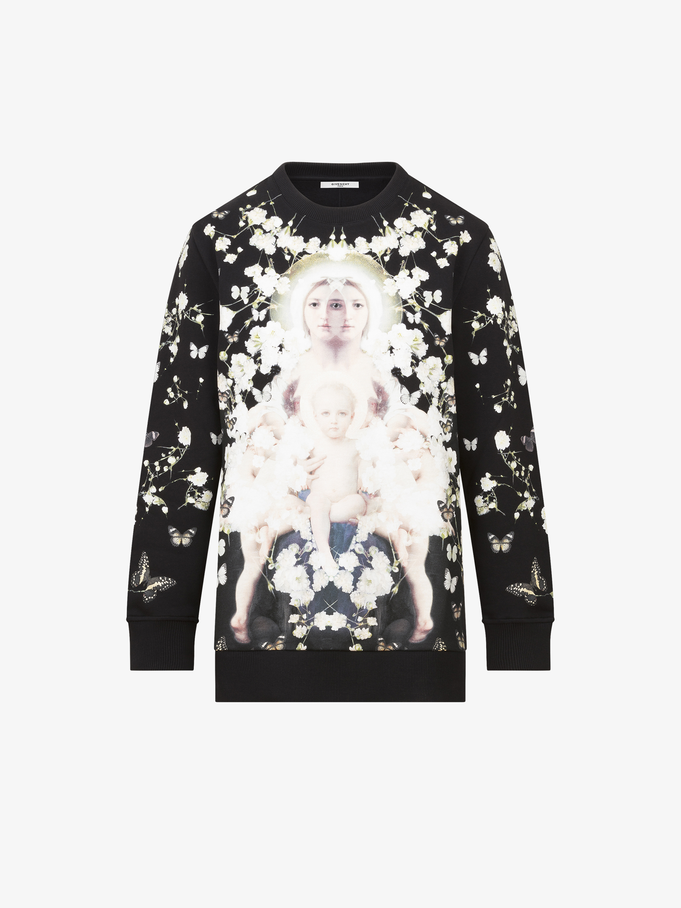 Baby's breath Madonna printed sweatshirt
