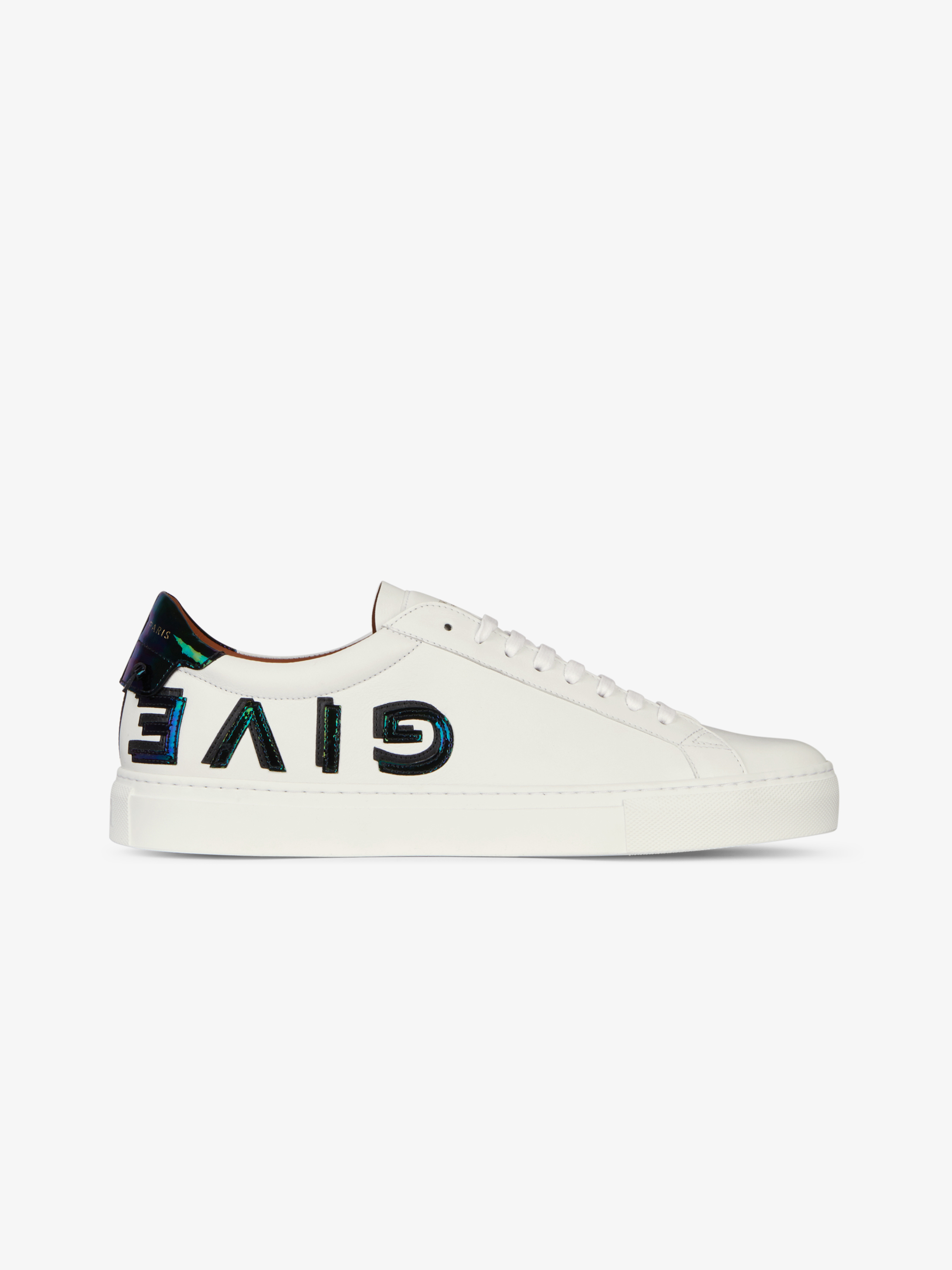 GIVENCHY reverse sneakers in leather