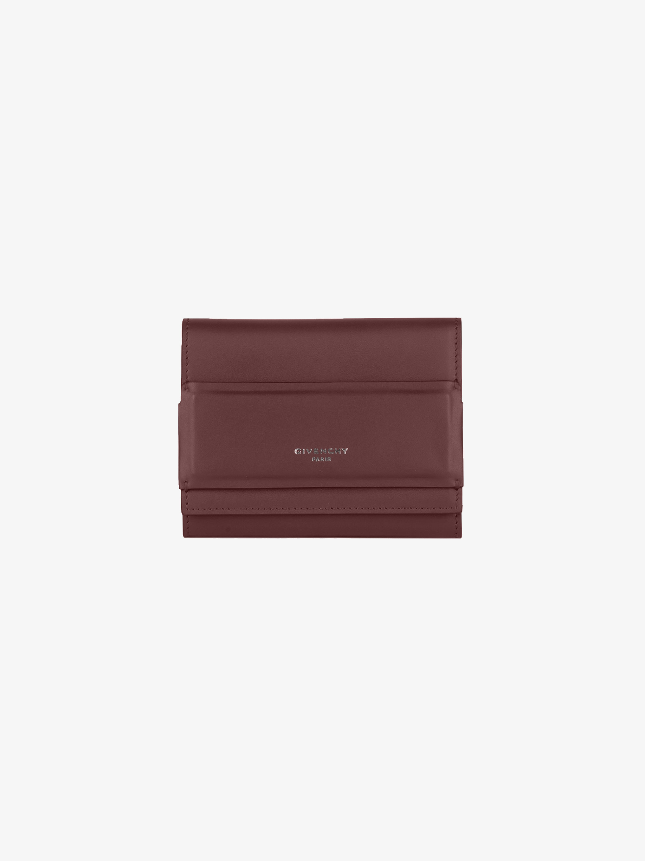 Horizon trifold wallet in smooth leather