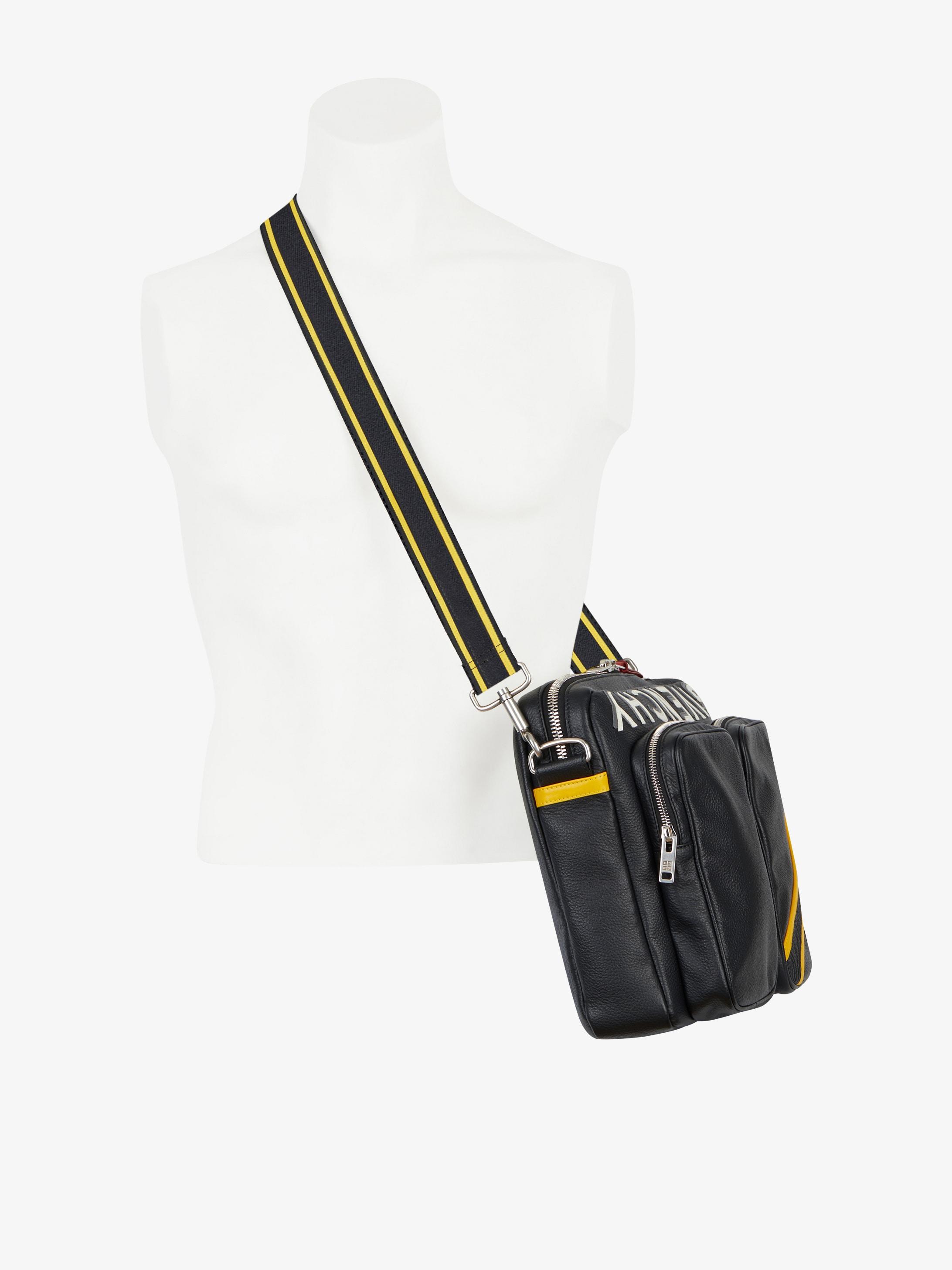 Reverse Givenchy messenger bag
