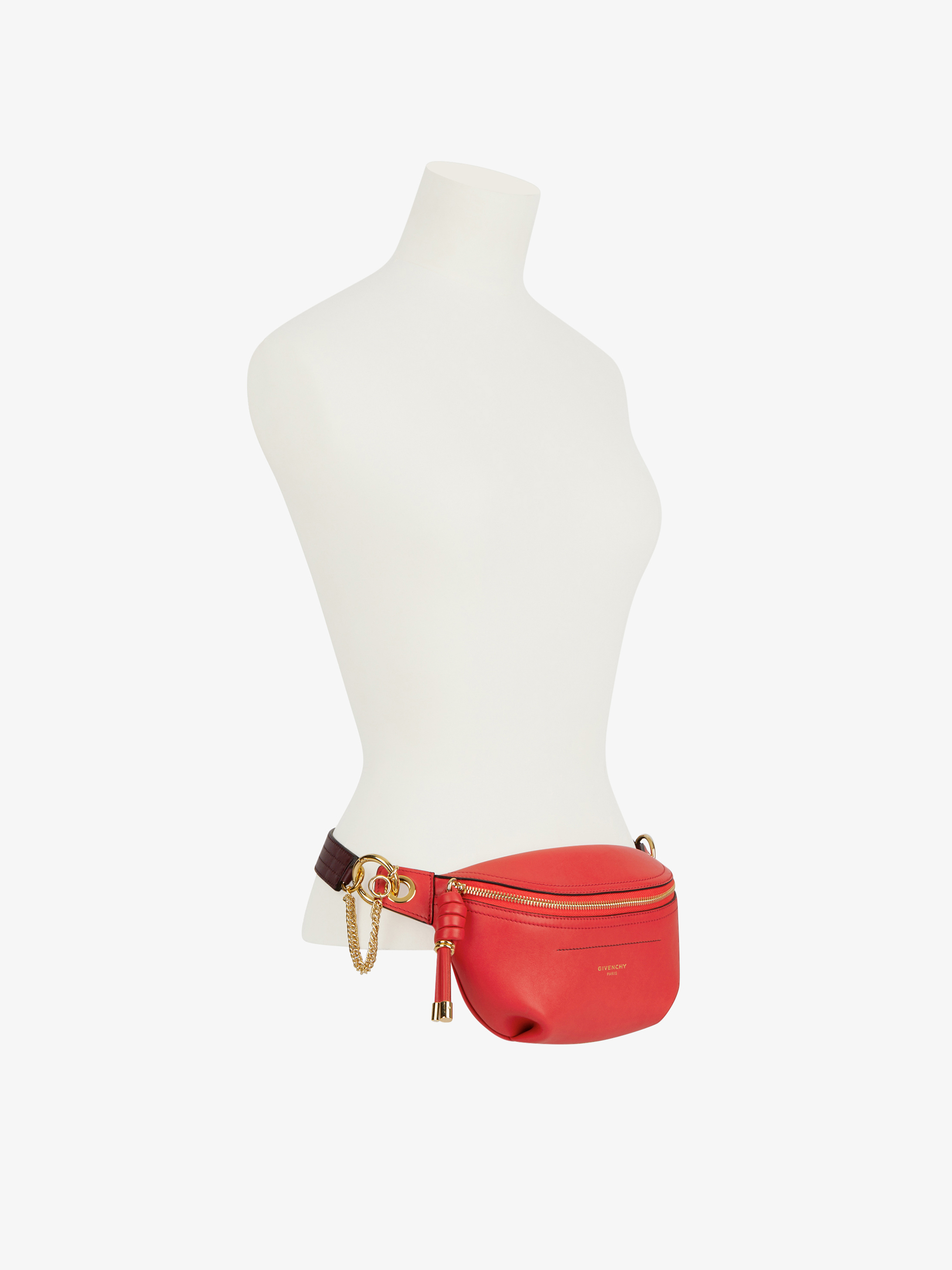 Small Whip bum bag with contrasting details