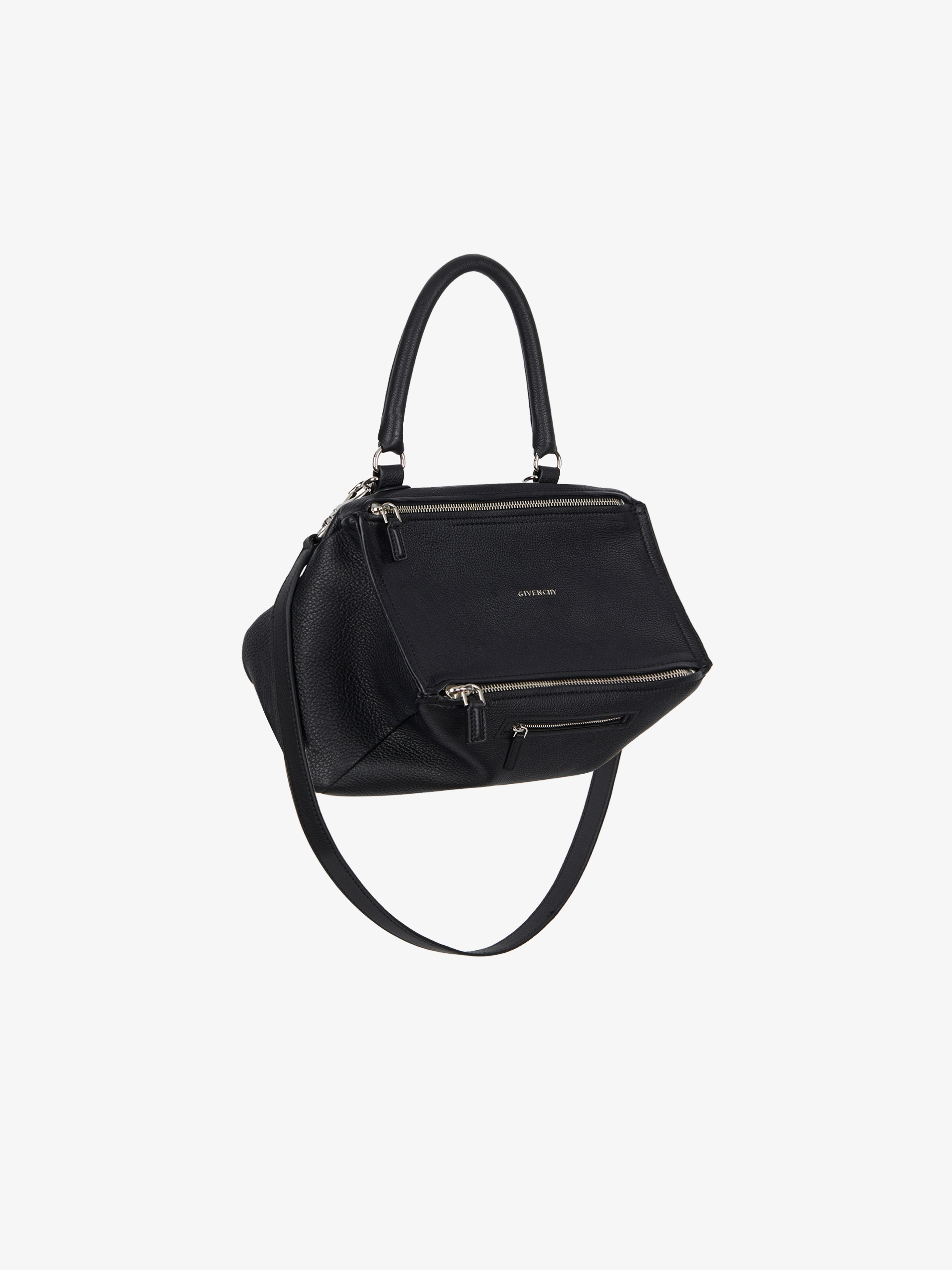 Medium Pandora bag in grained leather