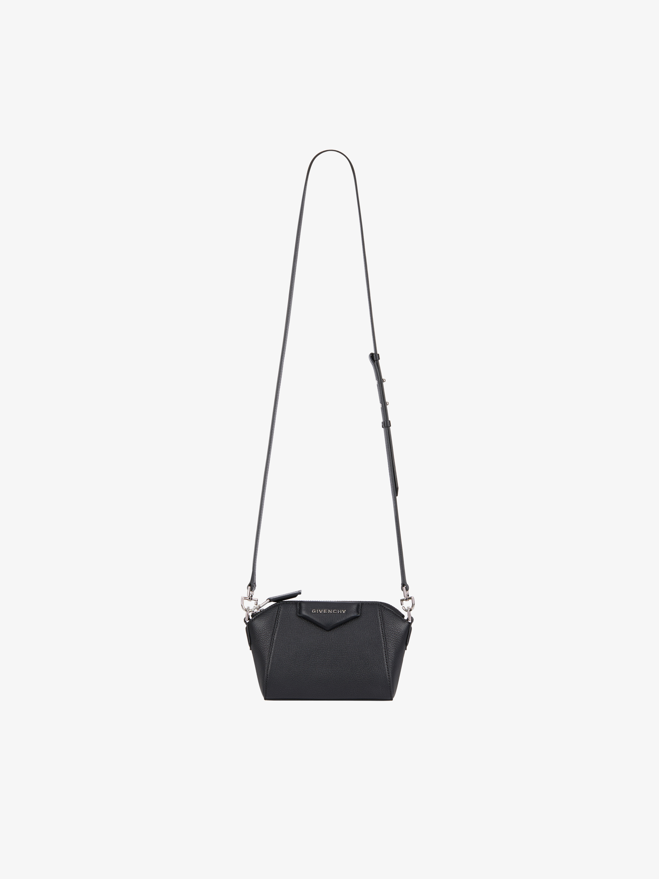 Nano Antigona bag in grained leather