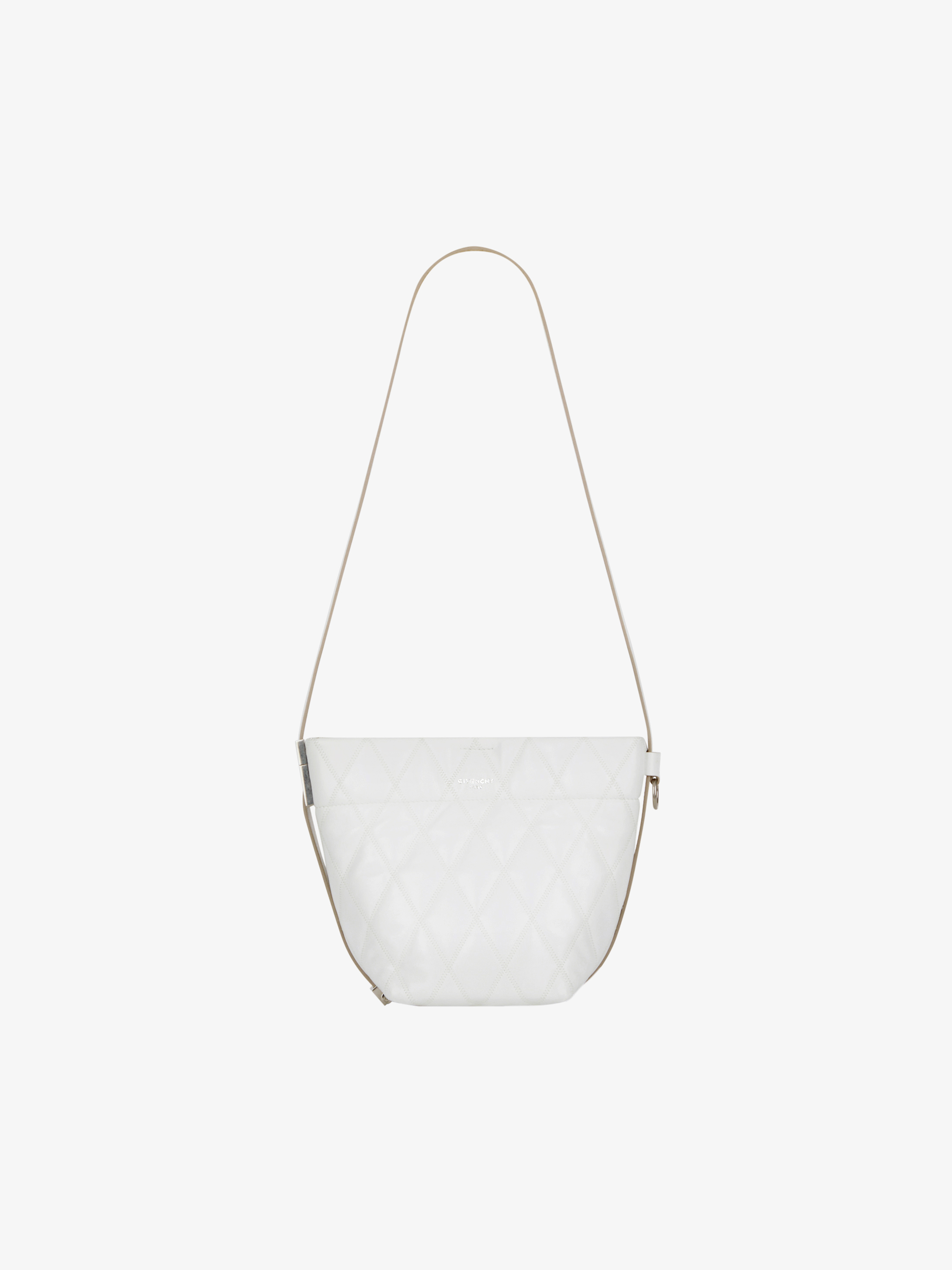 Mini GV Bucket bag in quilted leather