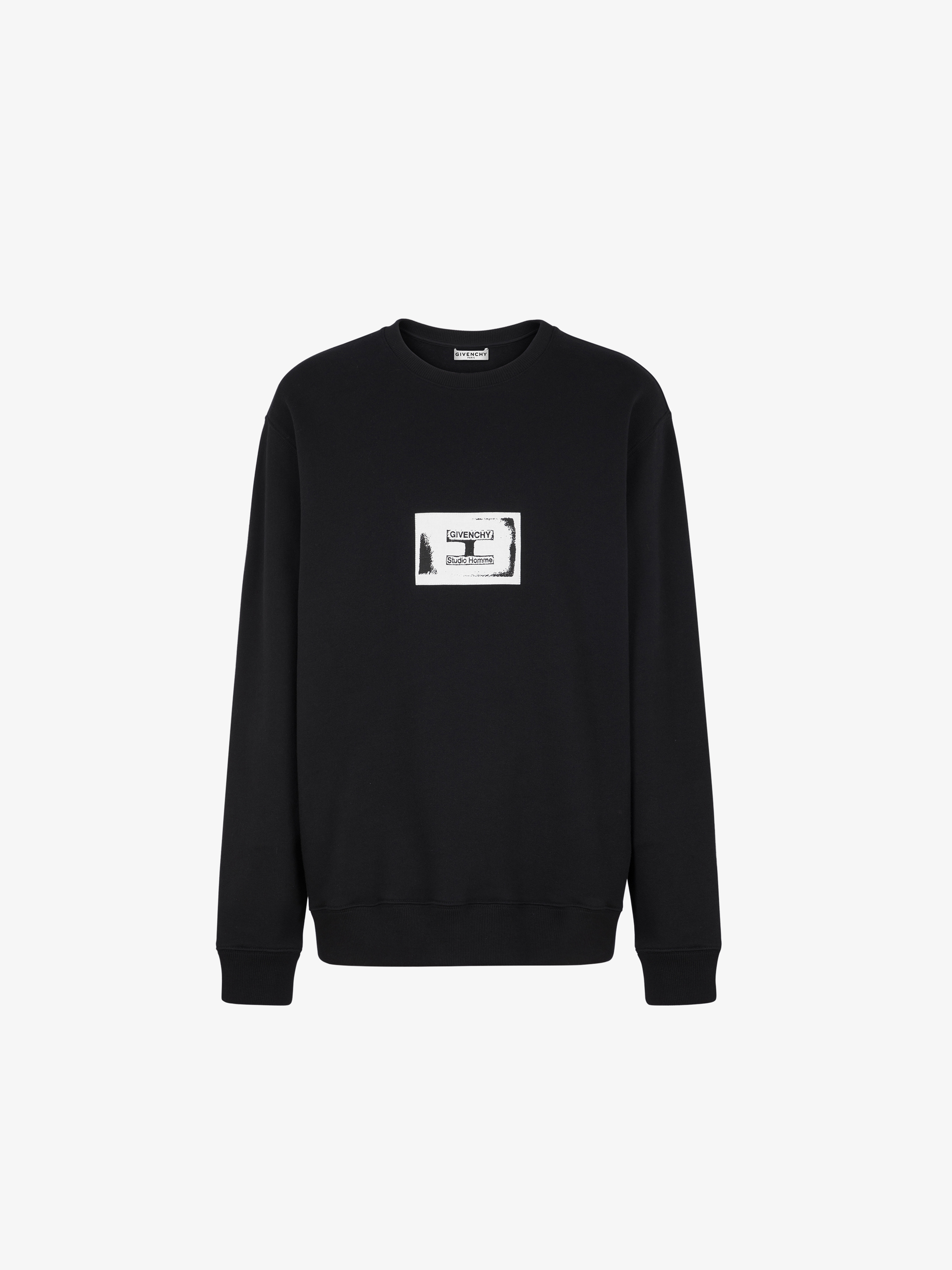 GIVENCHY Studio Homme sweatshirt with patch