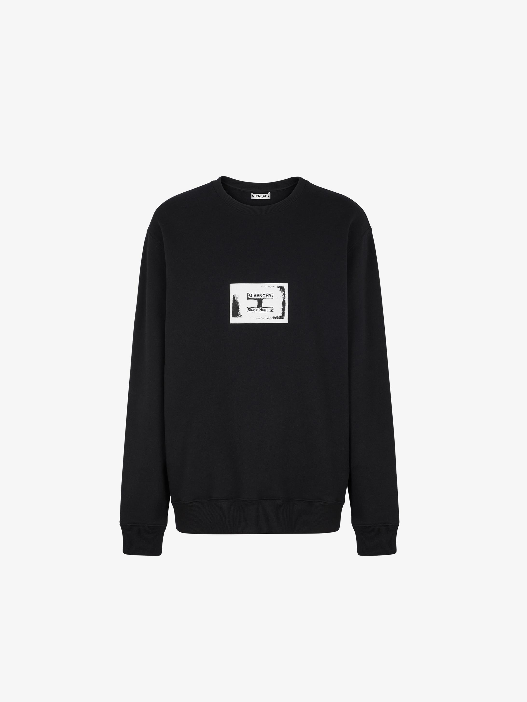 Sweatshirt à patch GIVENCHY Studio Homme