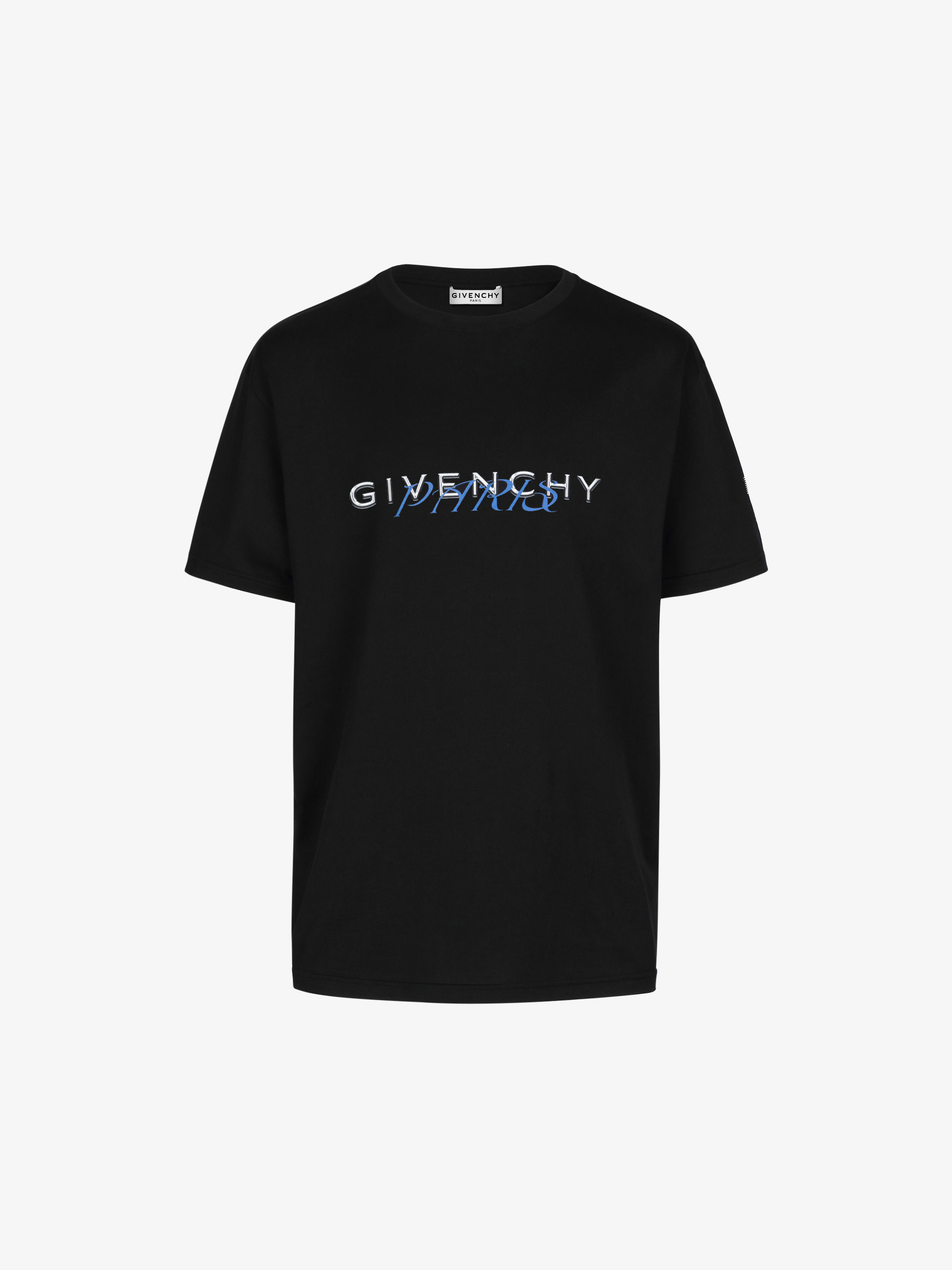 GIVENCHY PARIS calligraphic printed t-shirt