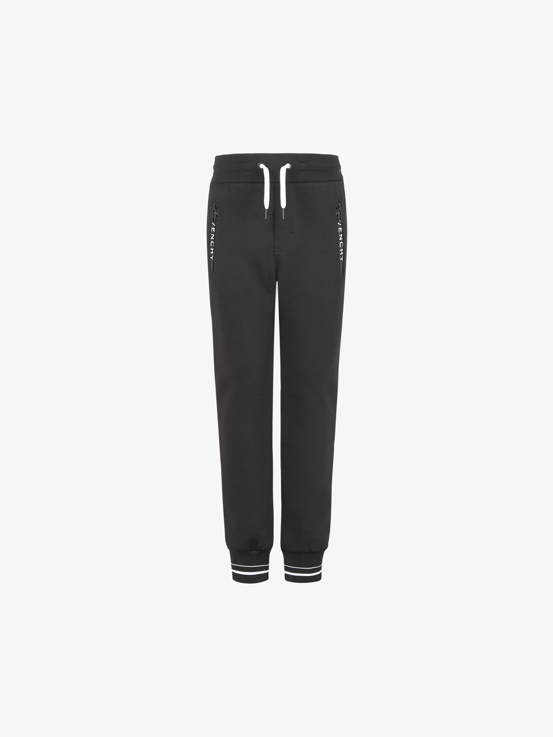 GIVENCHY contrasted multipockets jogger pants