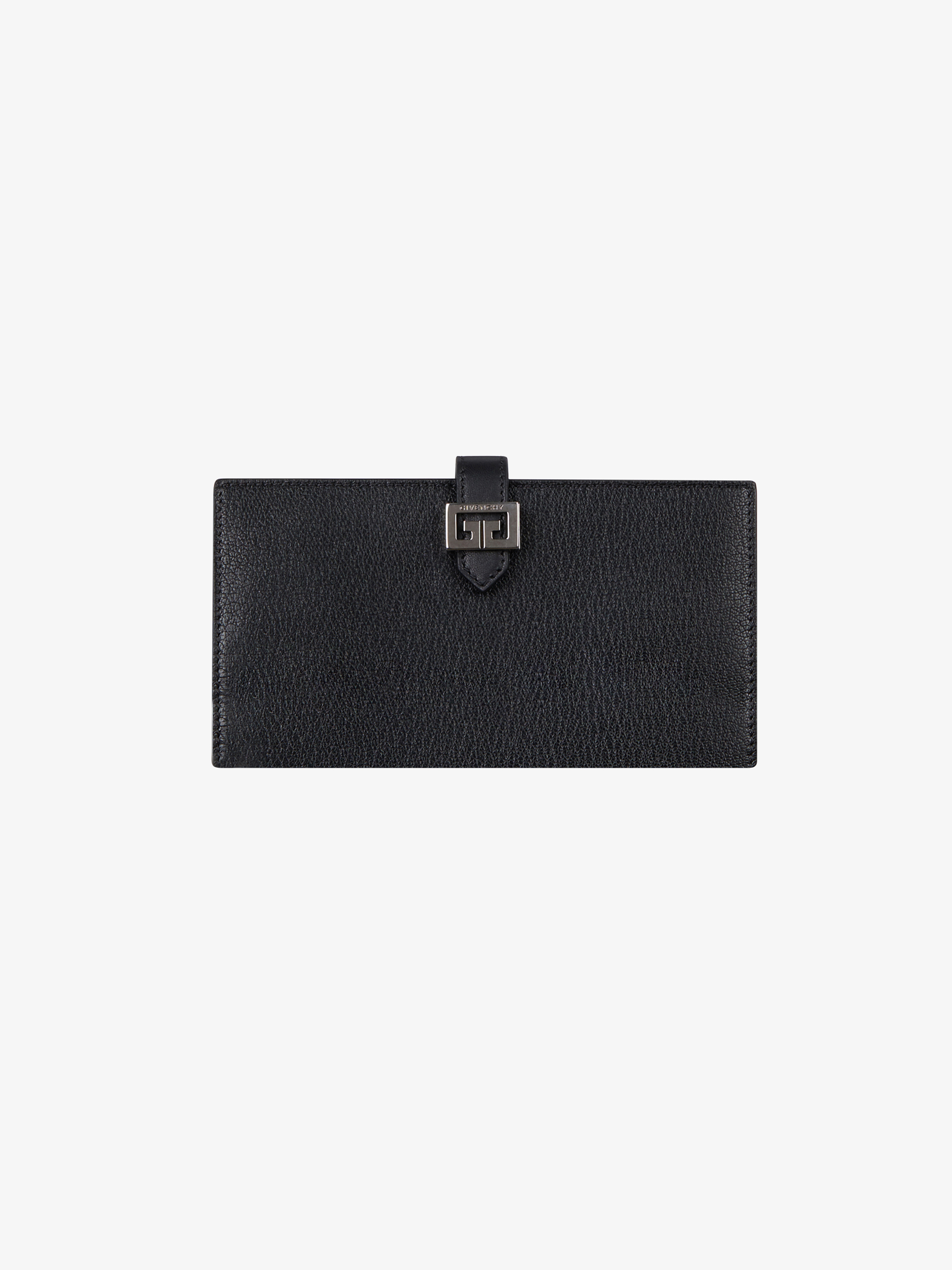 GV3 long wallet in leather