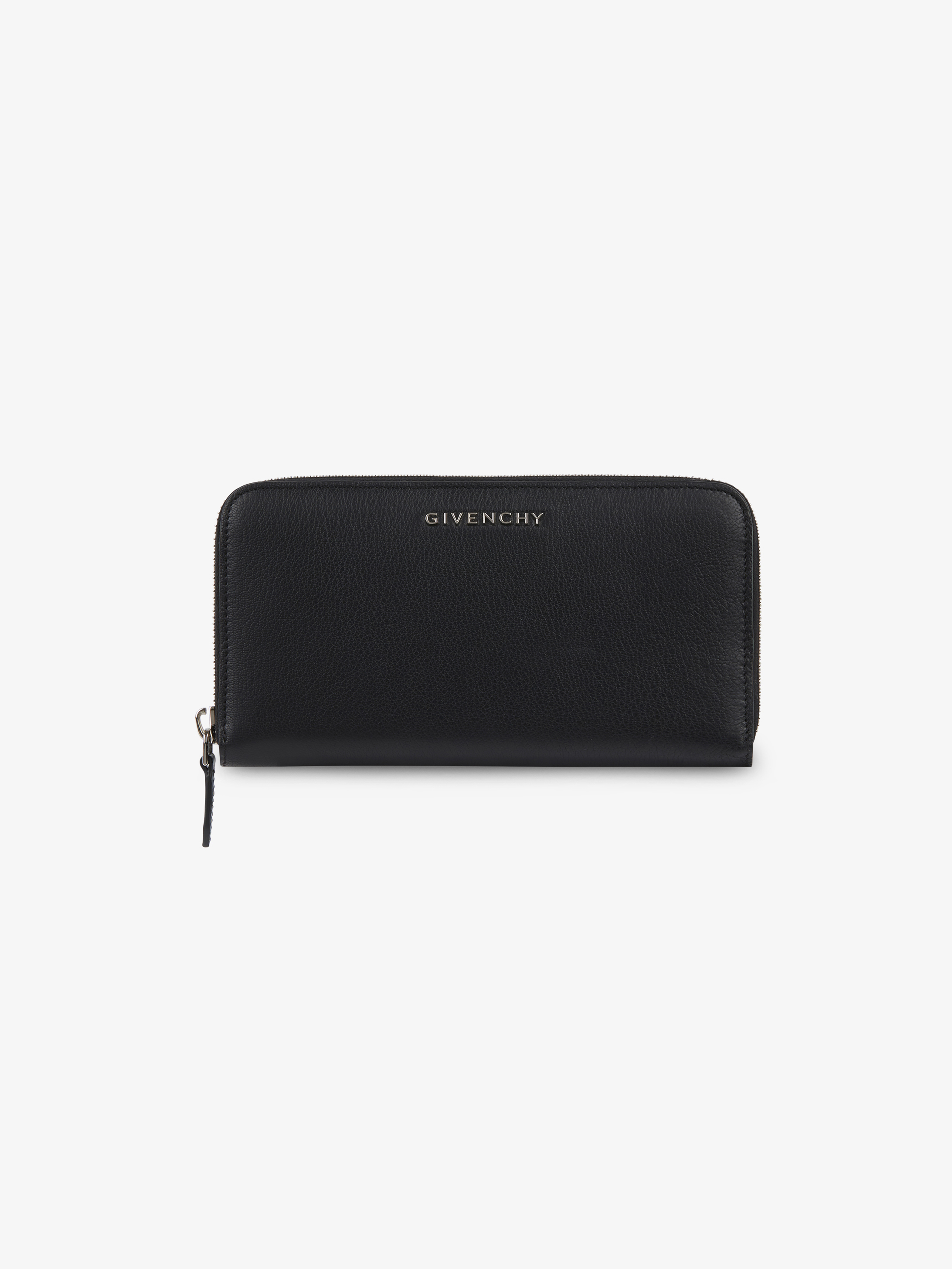 Pandora long wallet in grained leather