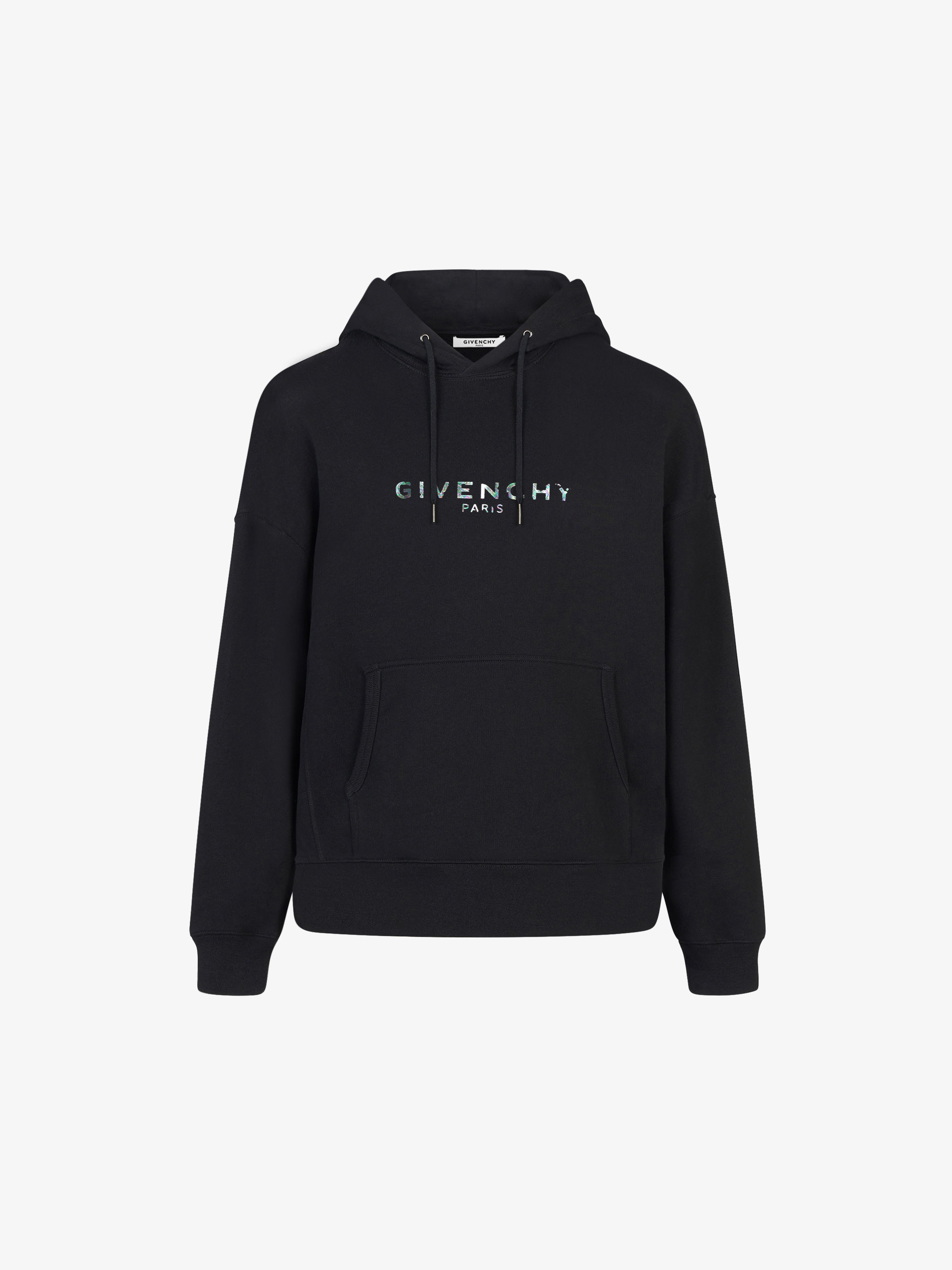 GIVENCHY PARIS iridescent hoodie