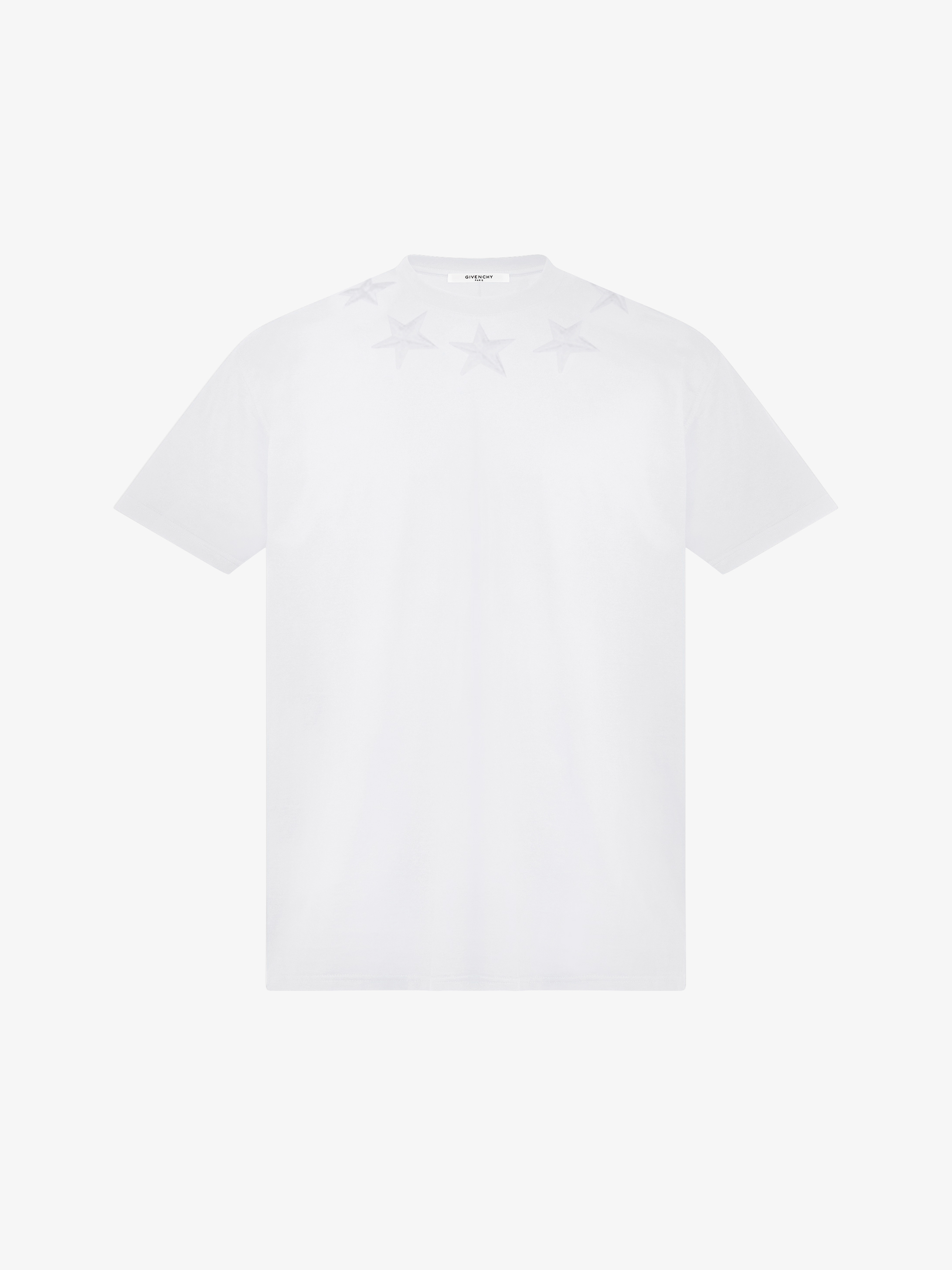 Stars embroidered oversized t-shirt