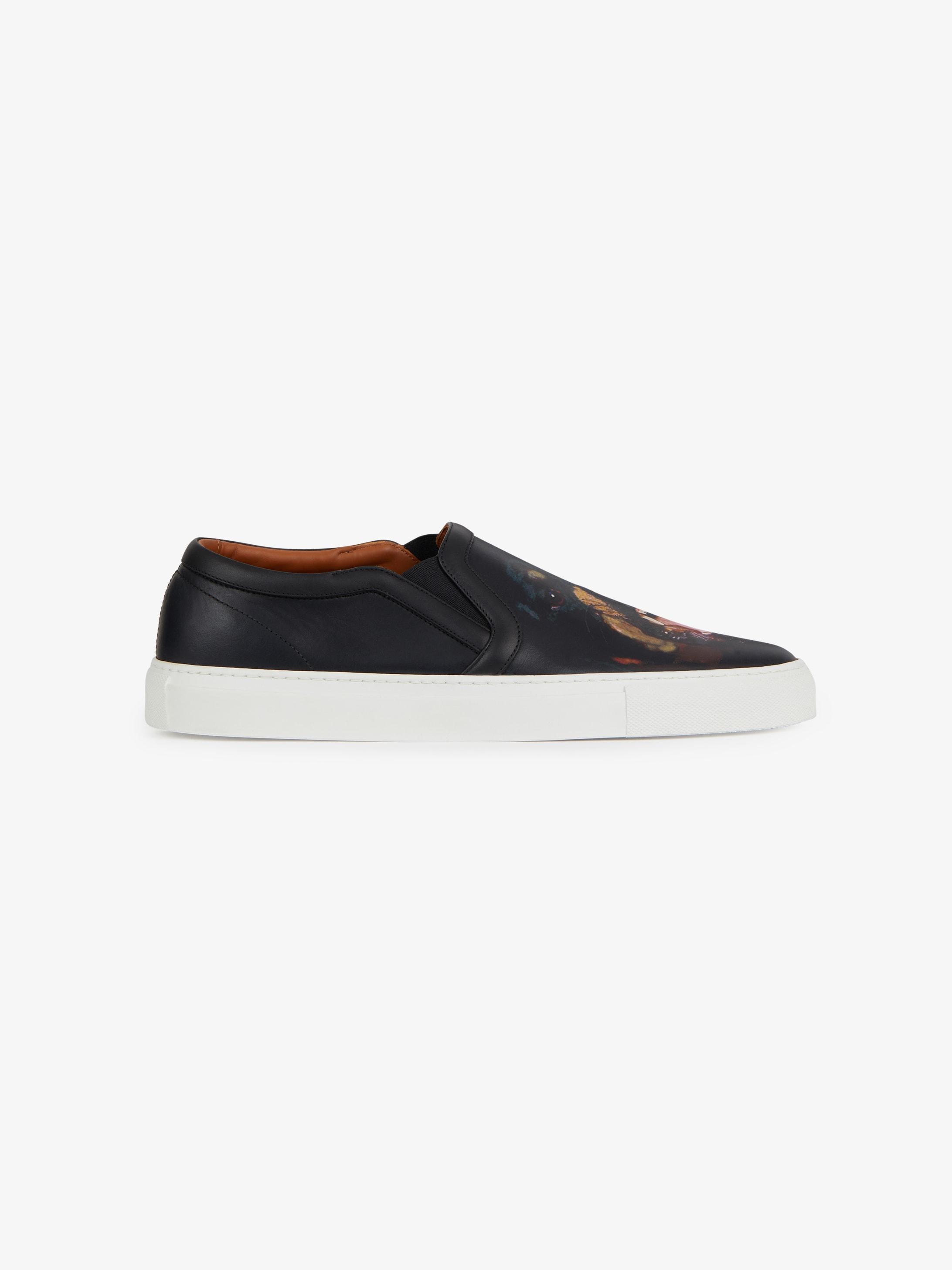 Rottweiler printed skate shoes