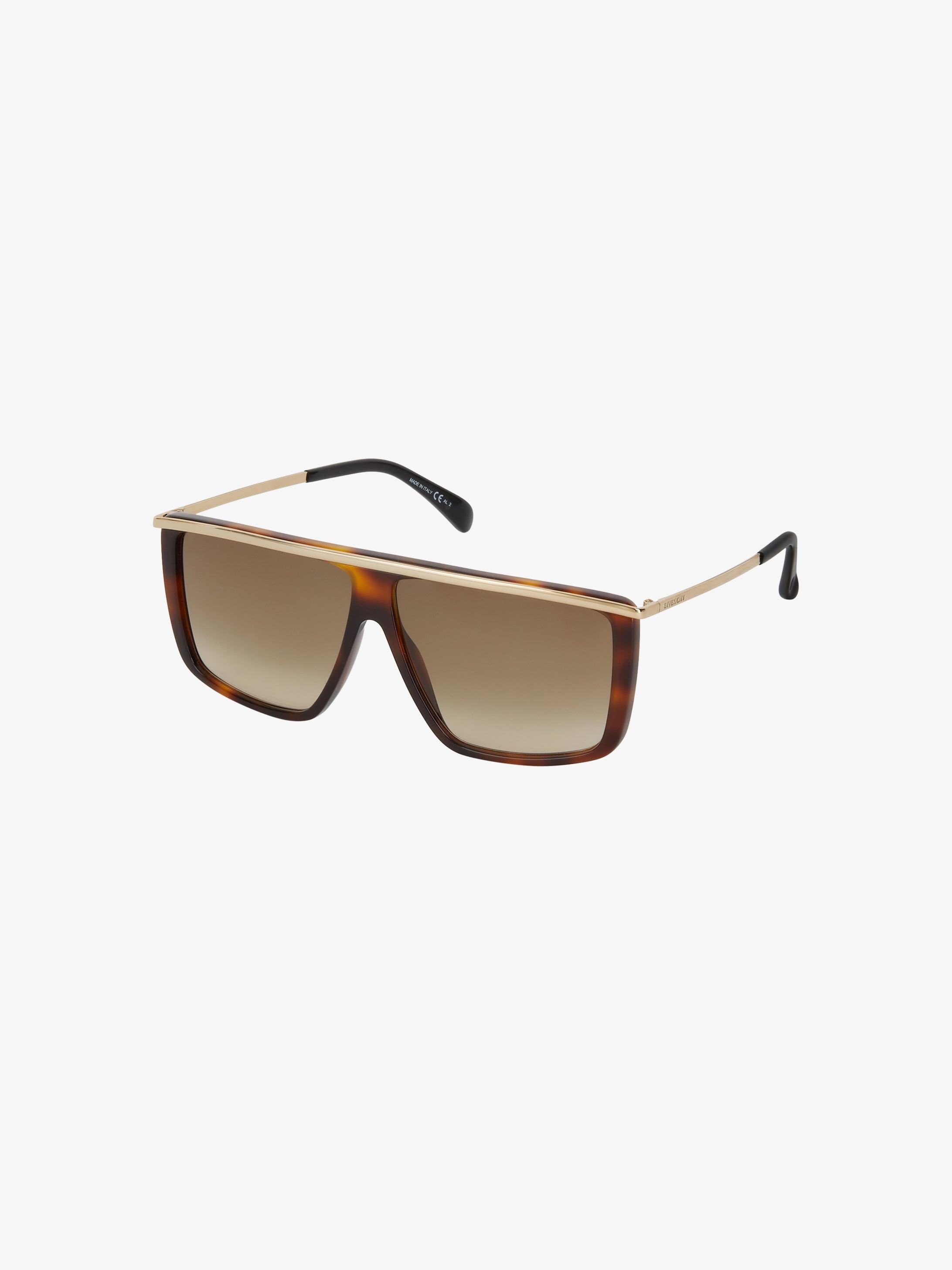 GV Light unisex sunglasses in acetate and metal