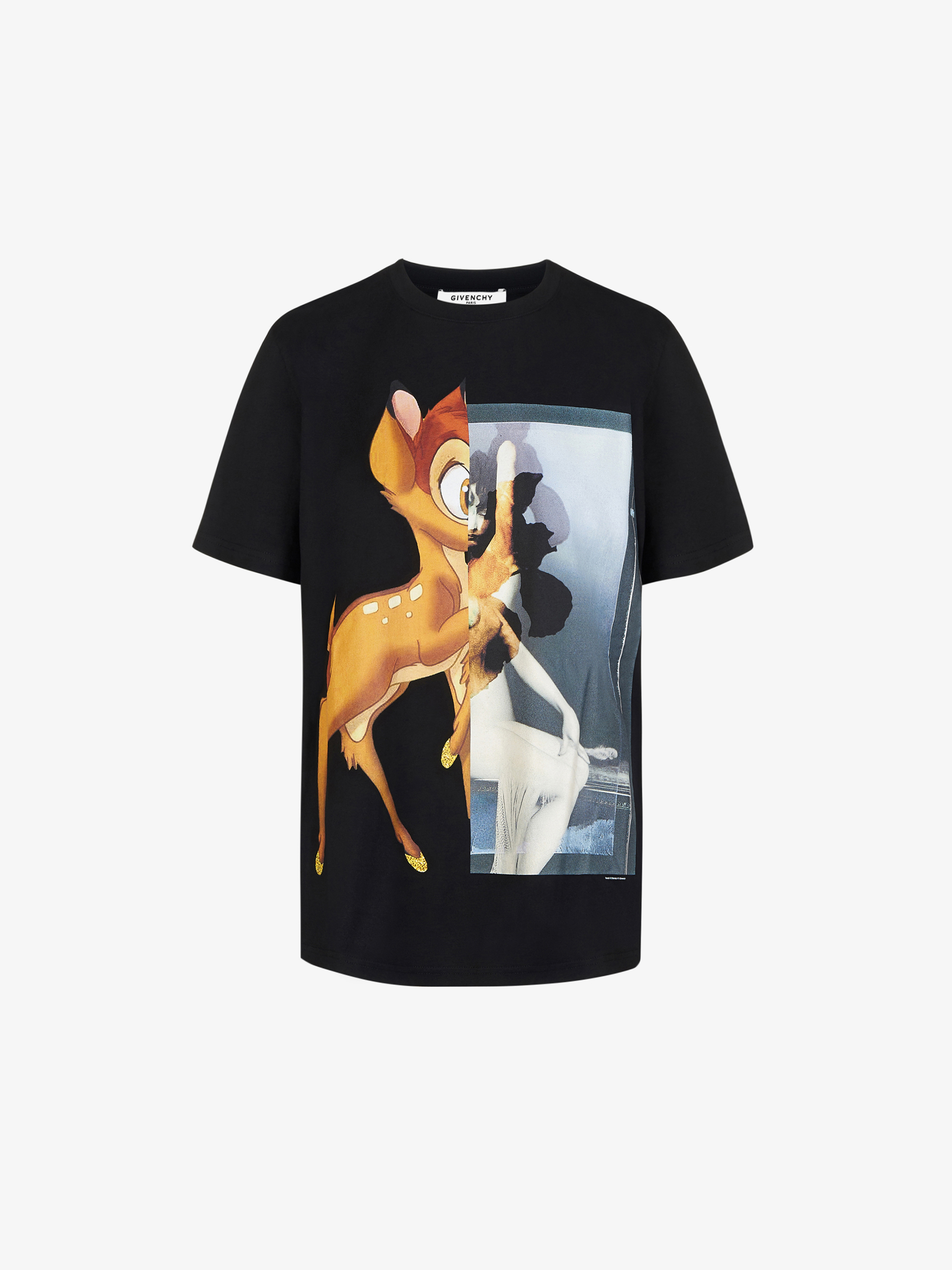 T-shirt con stampa Bambi