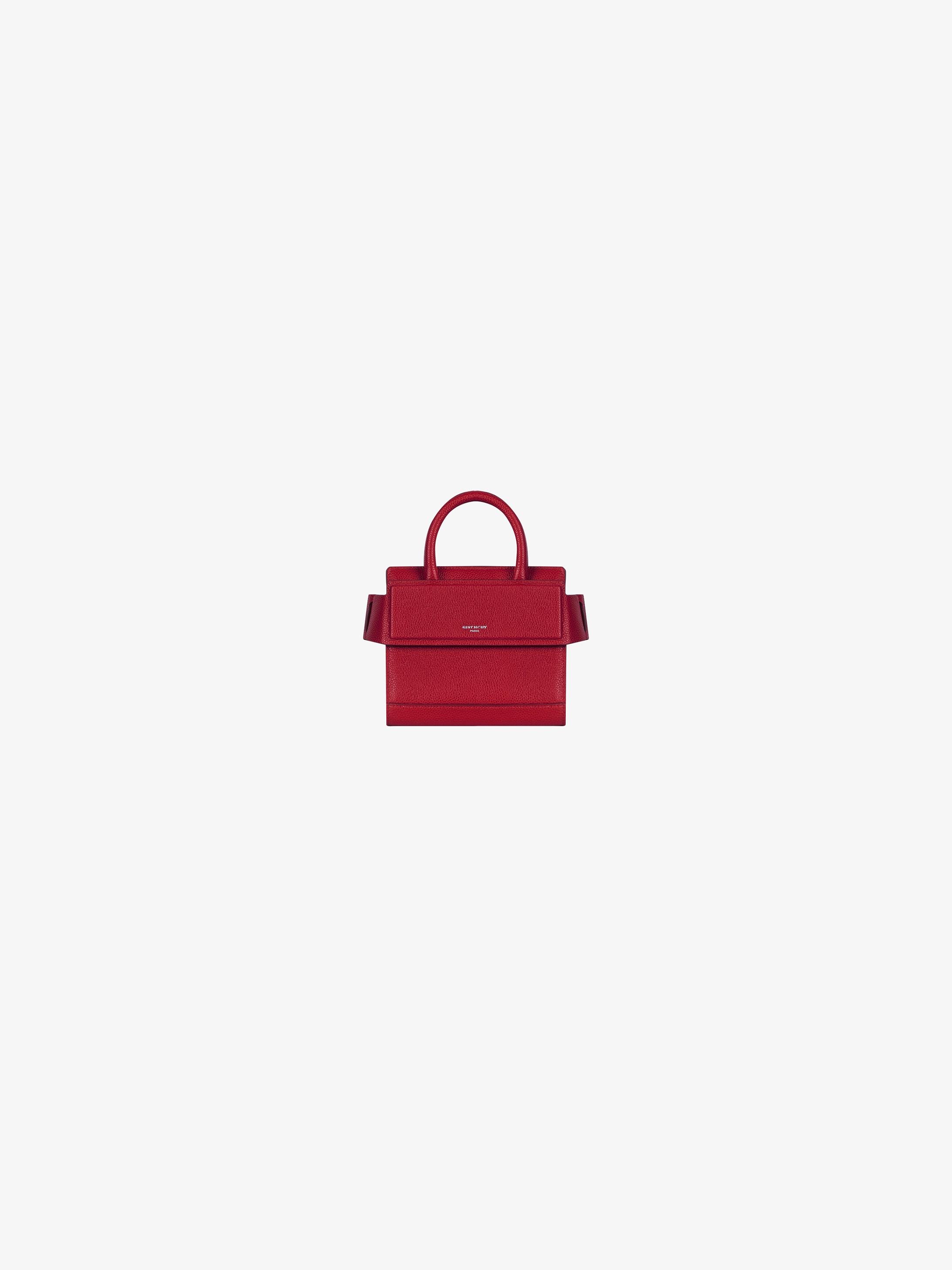 Nano Horizon bag in grained leather