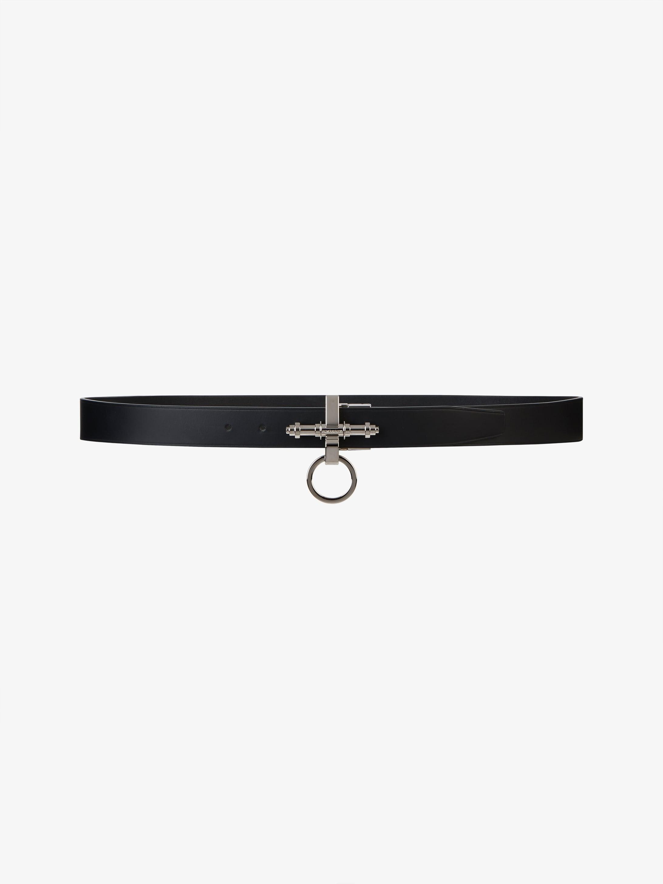 Obsedia leather belt