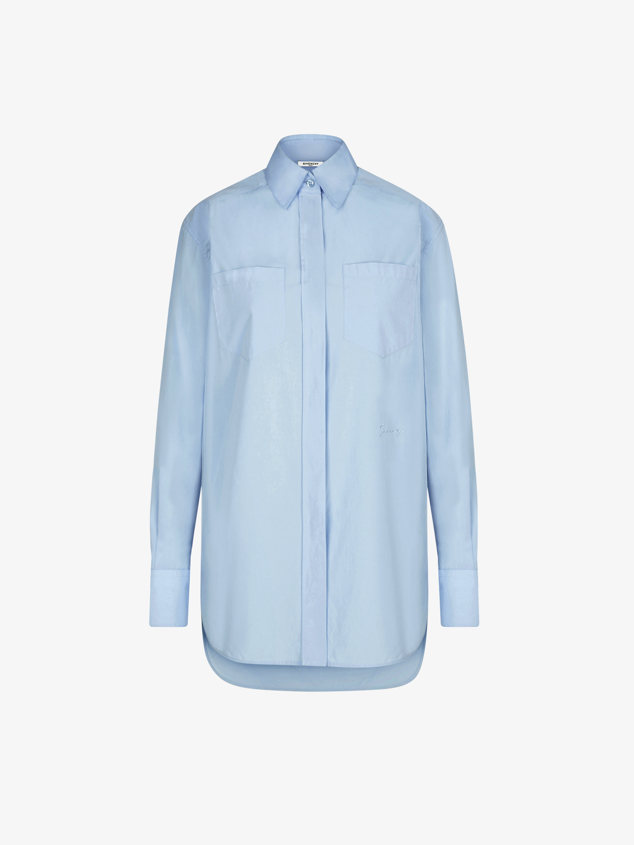GIVENCHY signature embroidered shirt