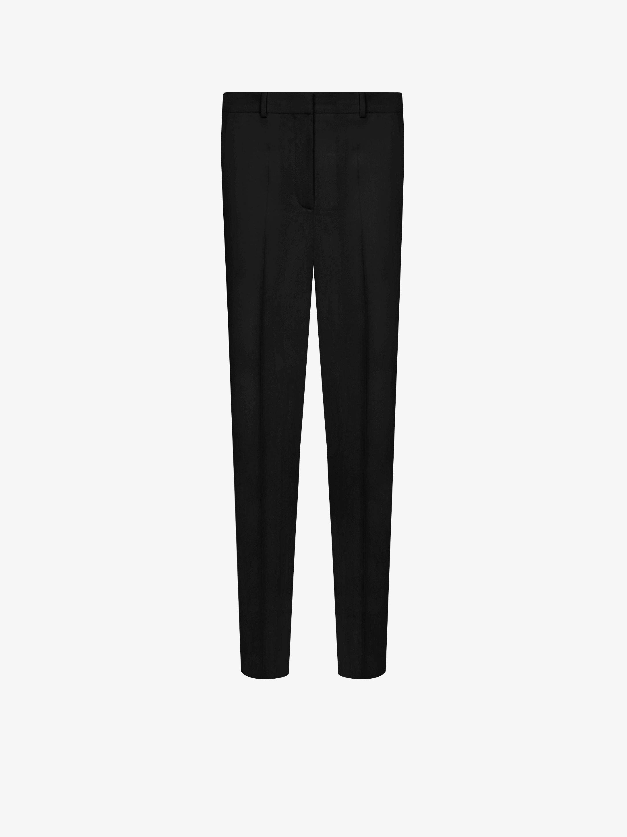 Grain de poudre slim fit trousers