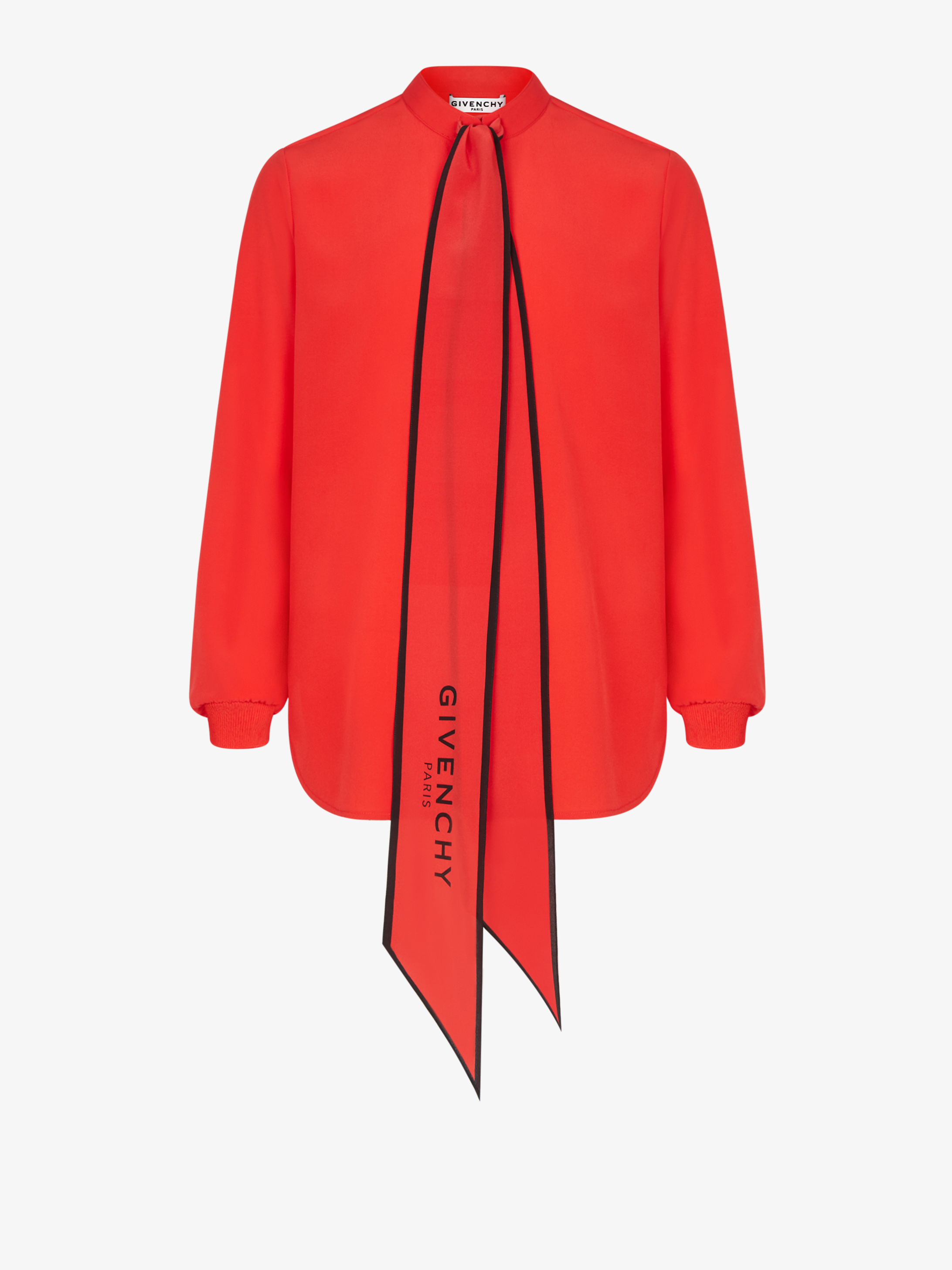 GIVENCHY blouse with scarf in silk