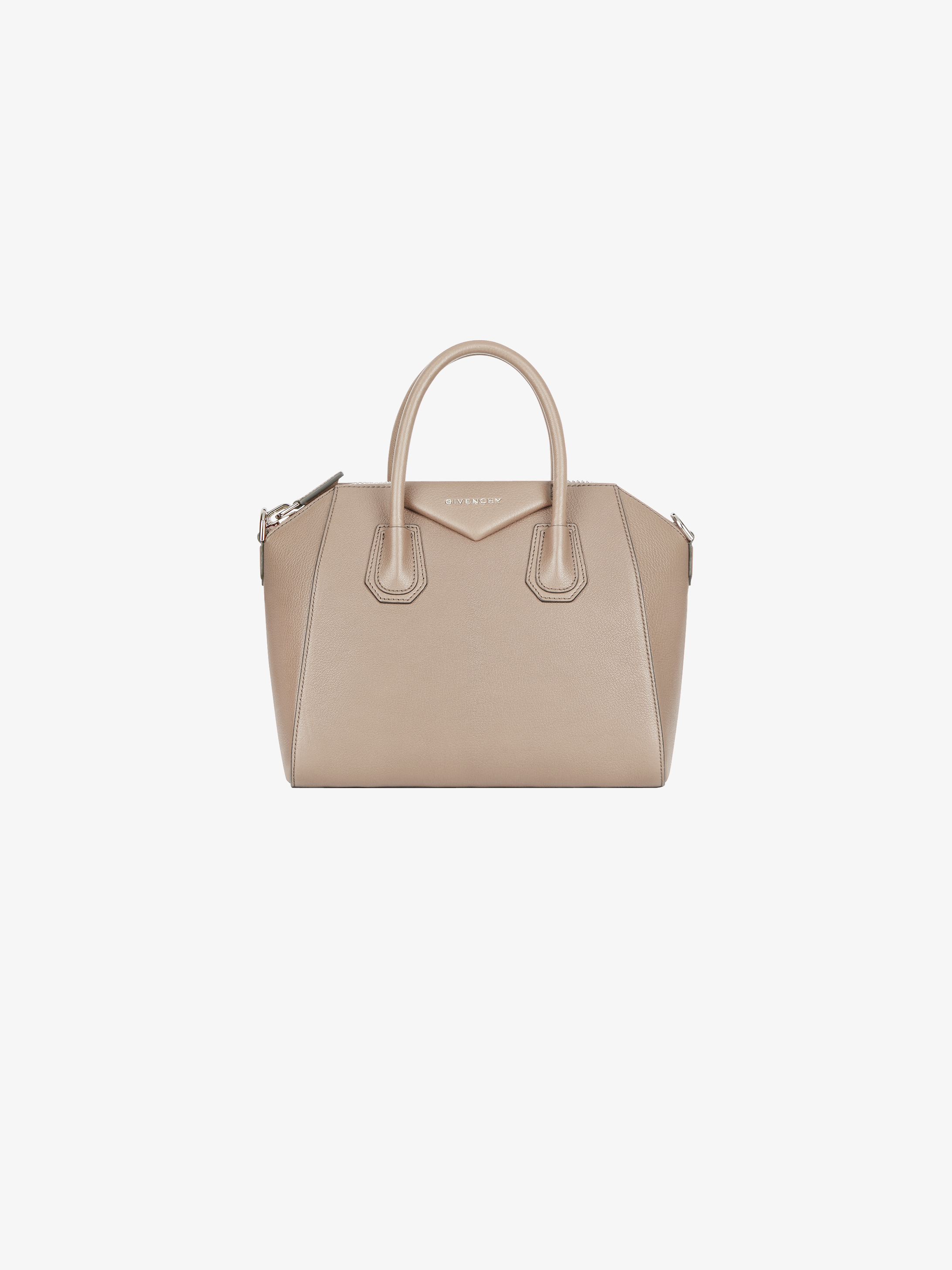 0687ff54d7 Small Antigona bag in grained leather