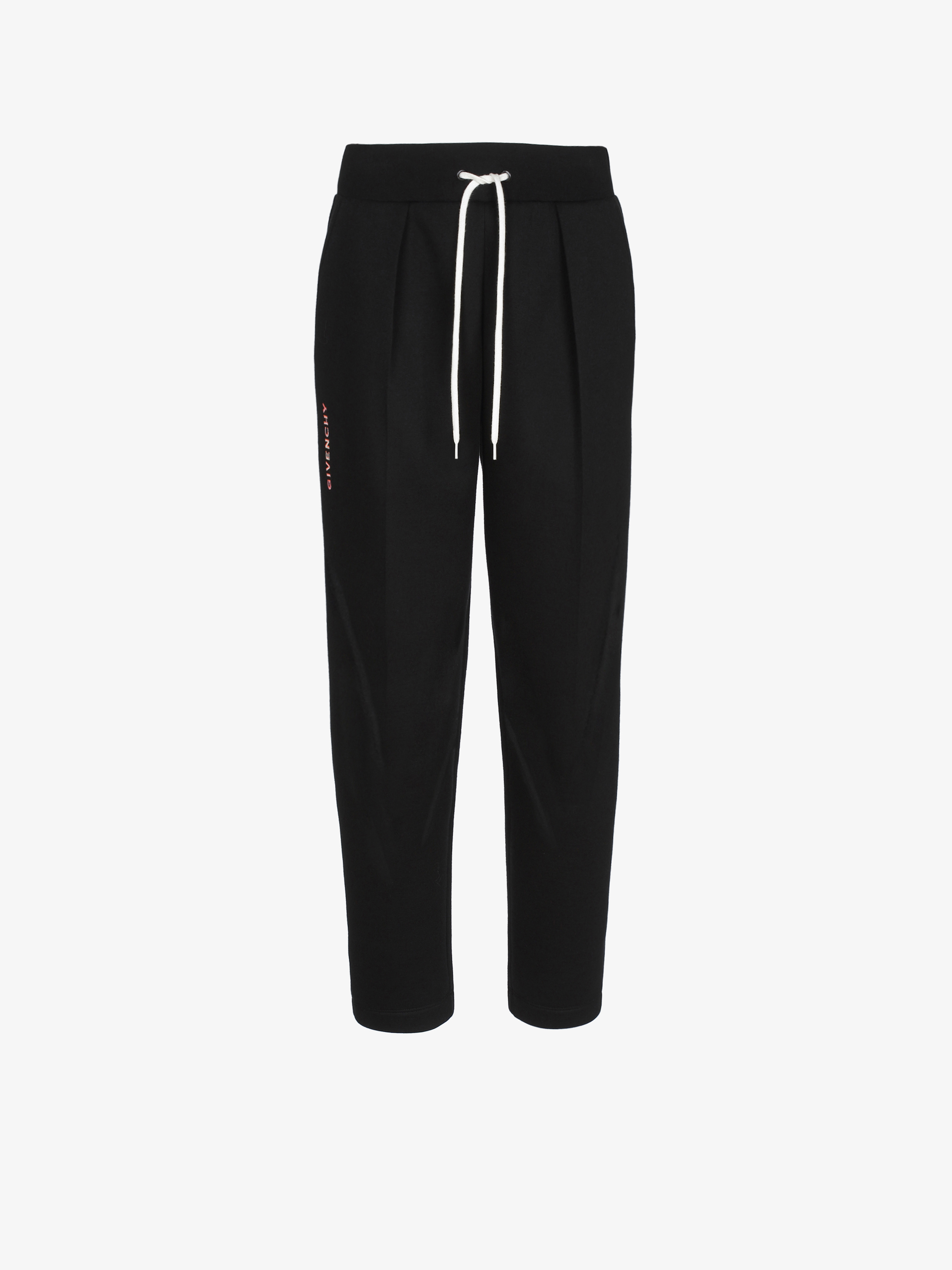 GIVENCHY shadowed embroidered jogger pants