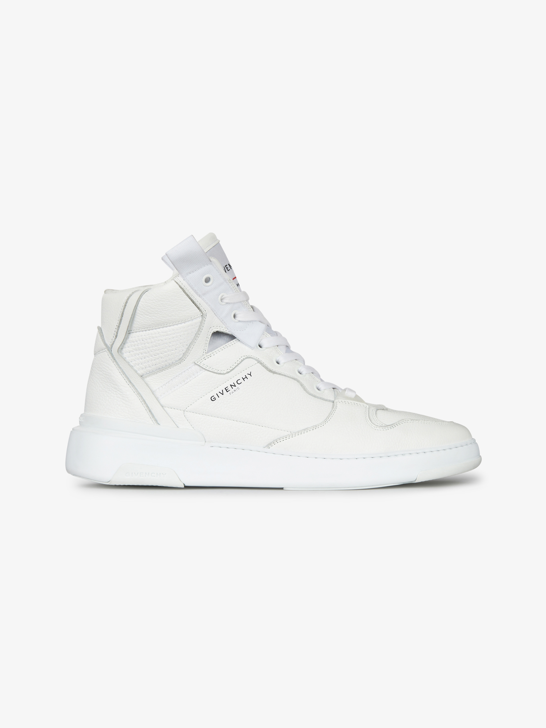 Wing mid sneakers in leather