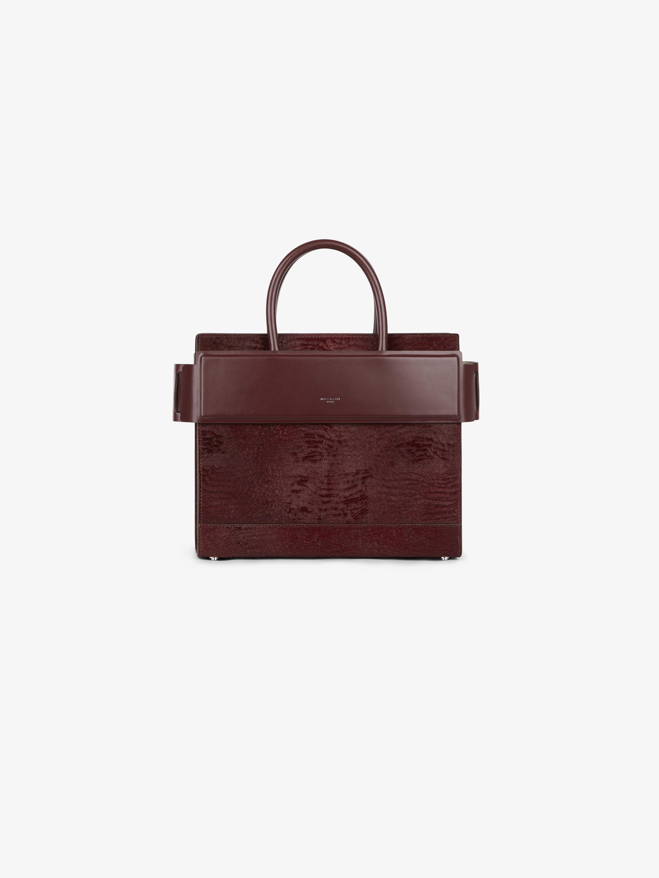 Astrakhan-style small Horizon bag