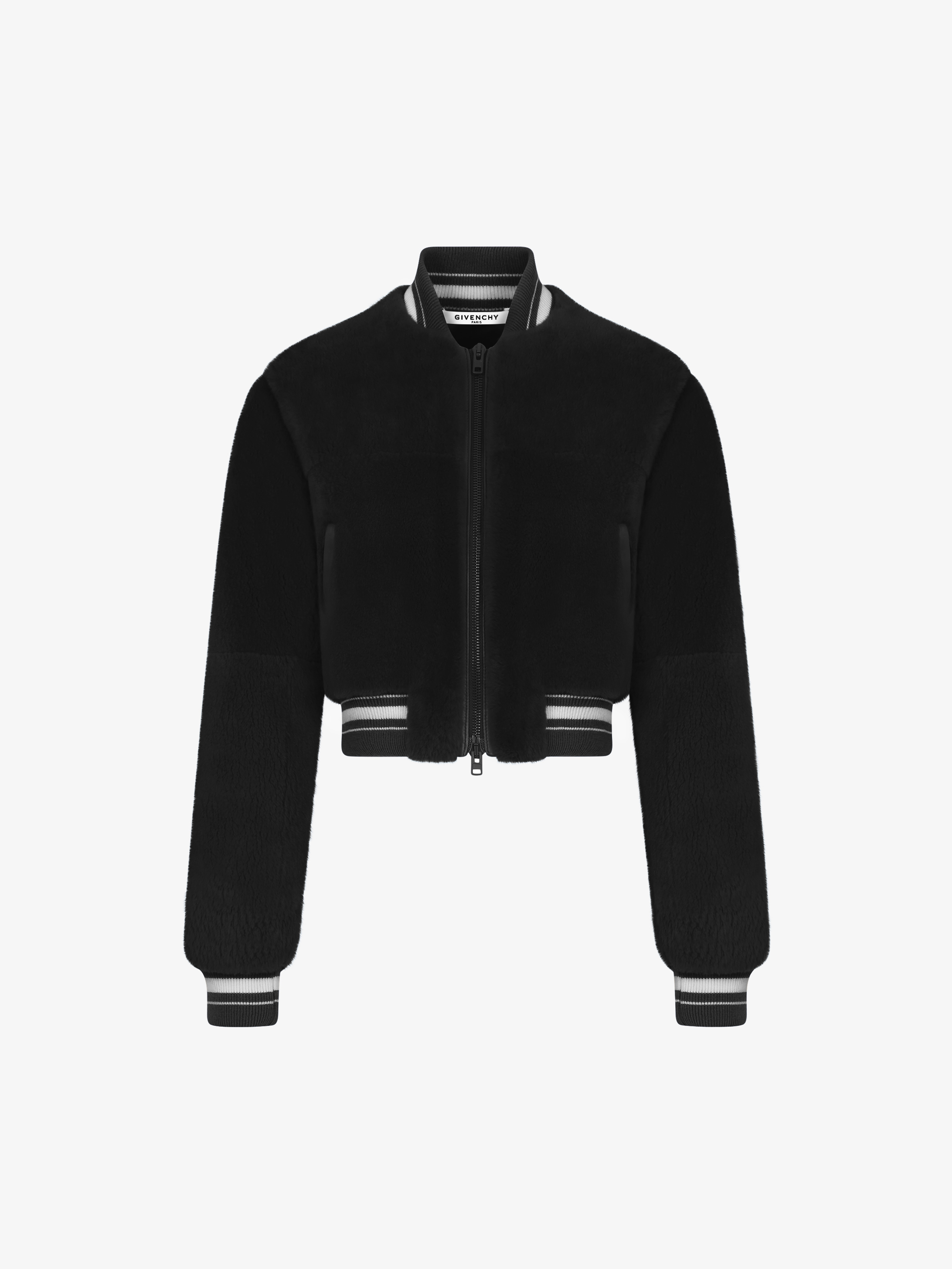 GIVENCHY PARIS bomber jacket in beaver