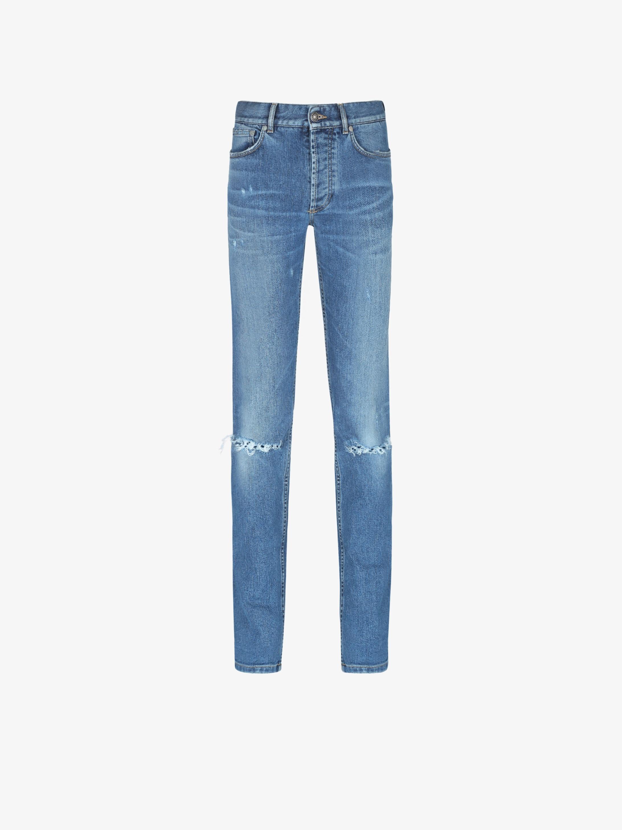 GIVENCHY destroyed jean slim