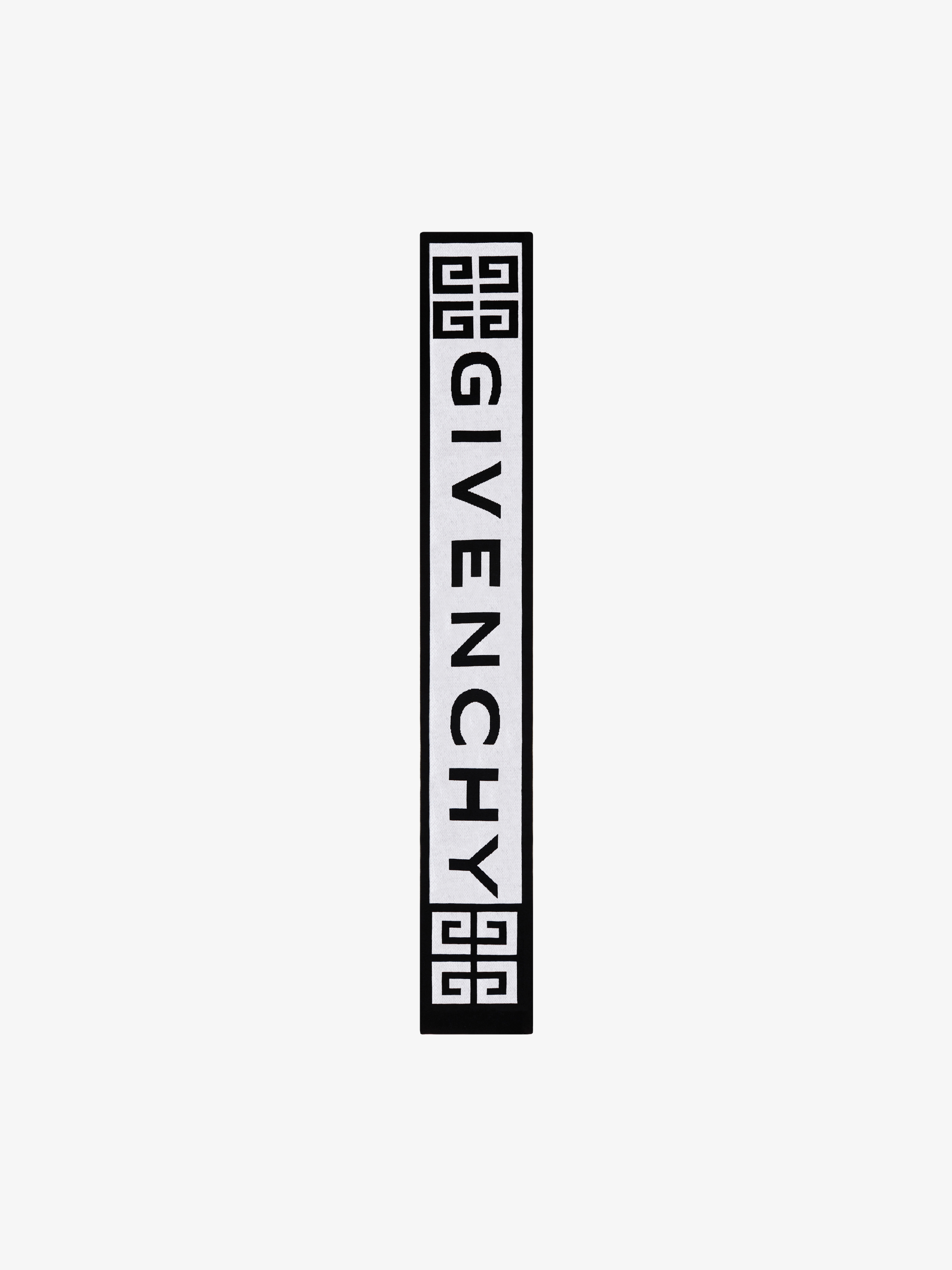 GIVENCHY and 4G knit scarf