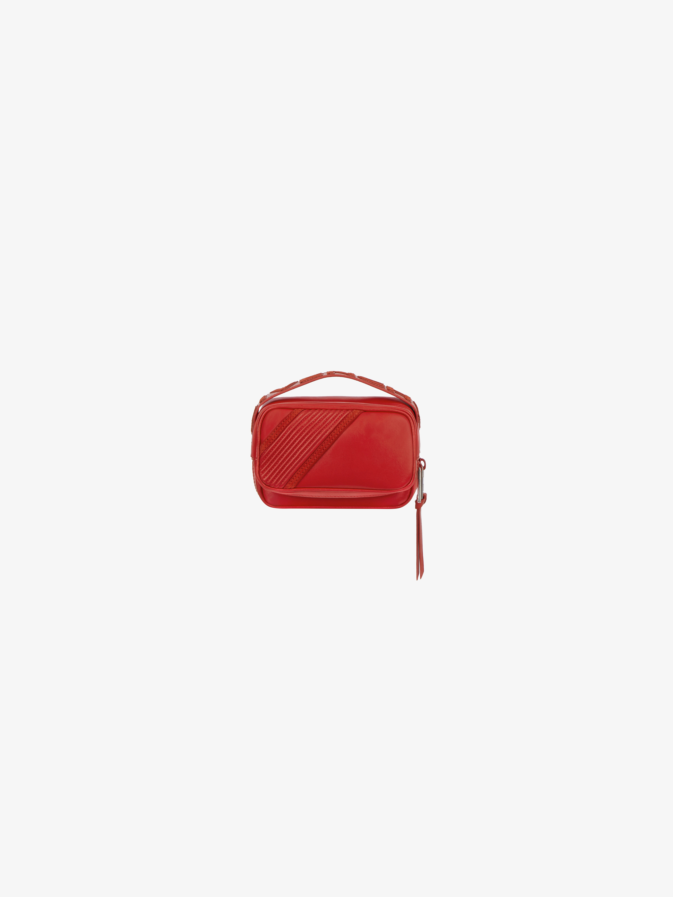 Reverse GIVENCHY bum bag in leather and suede