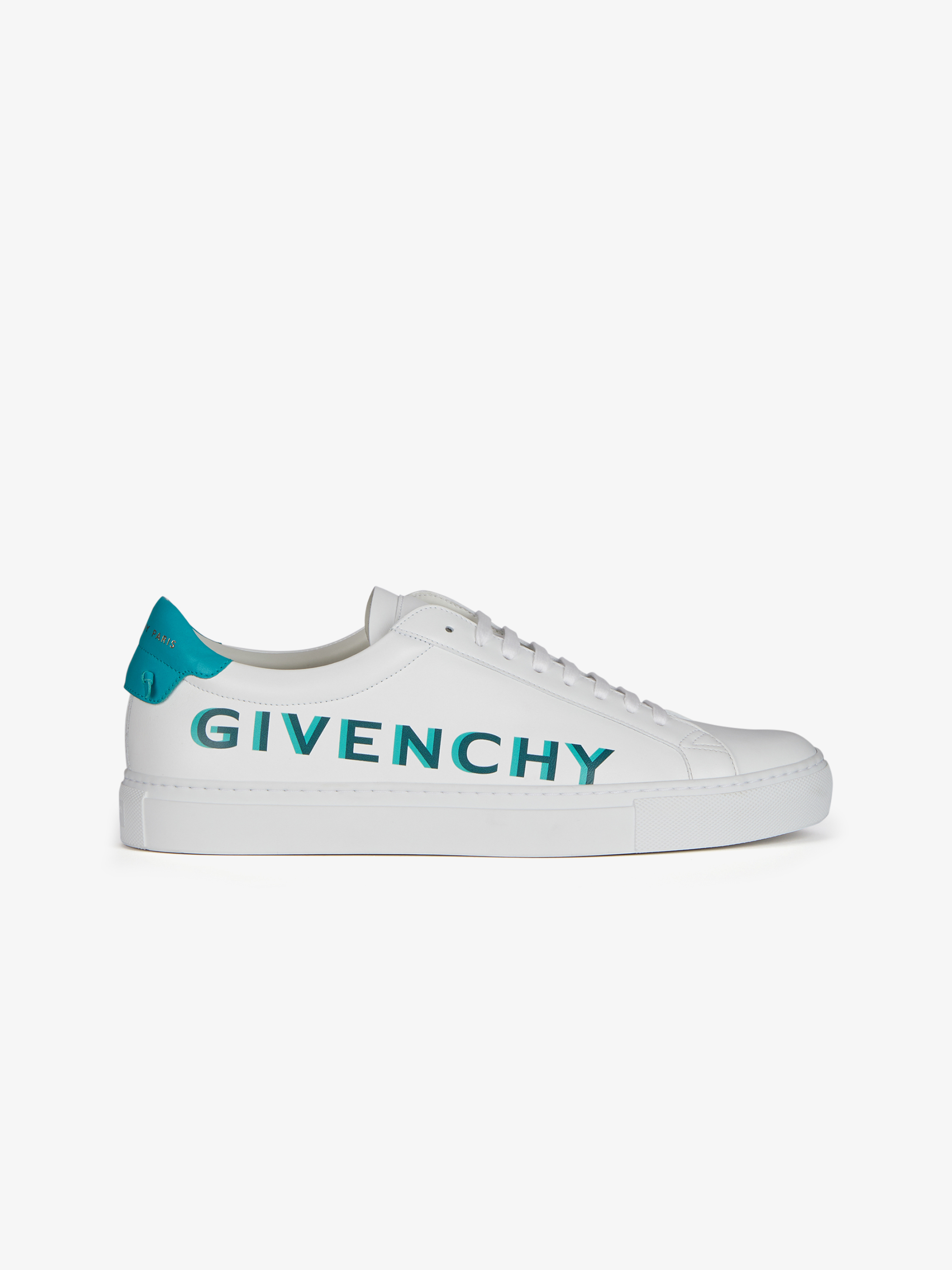 GIVENCHY shaded sneakers in leather