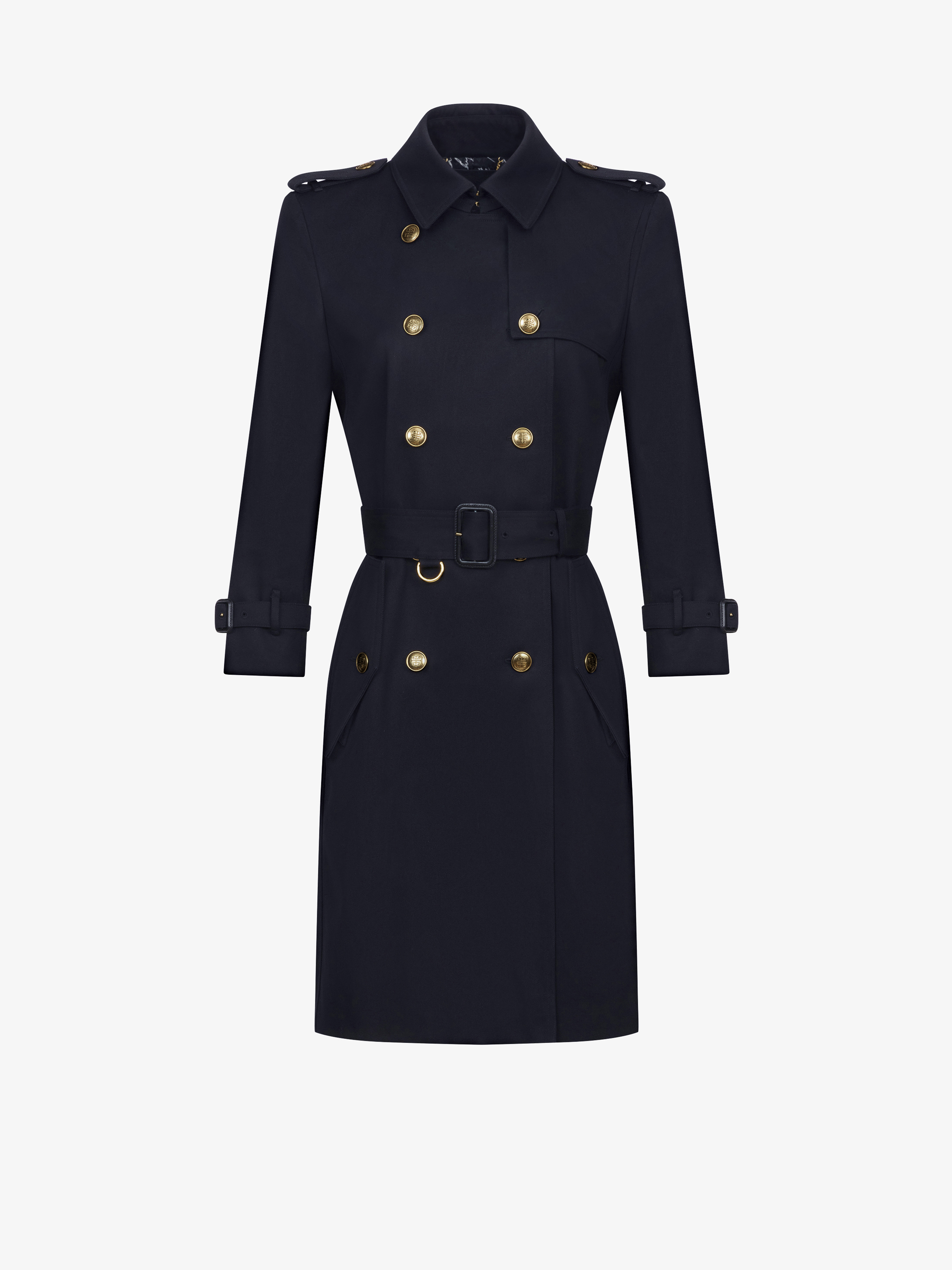double breasted trench coat - Black Givenchy Cheap Shop Authentic Cheap Price Sale Best T0KBx93