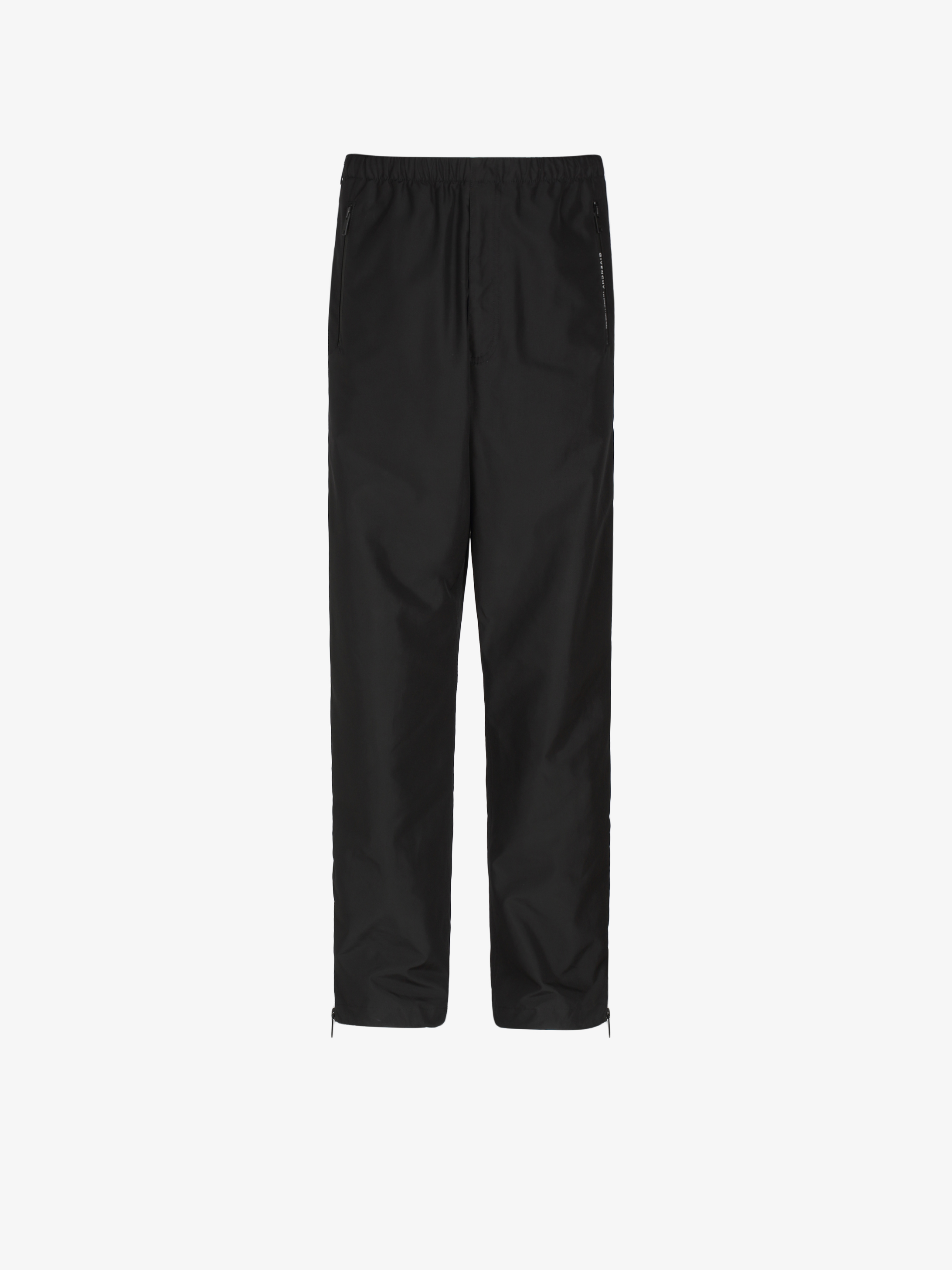 GIVENCHY ADDRESS jogger pants with zips