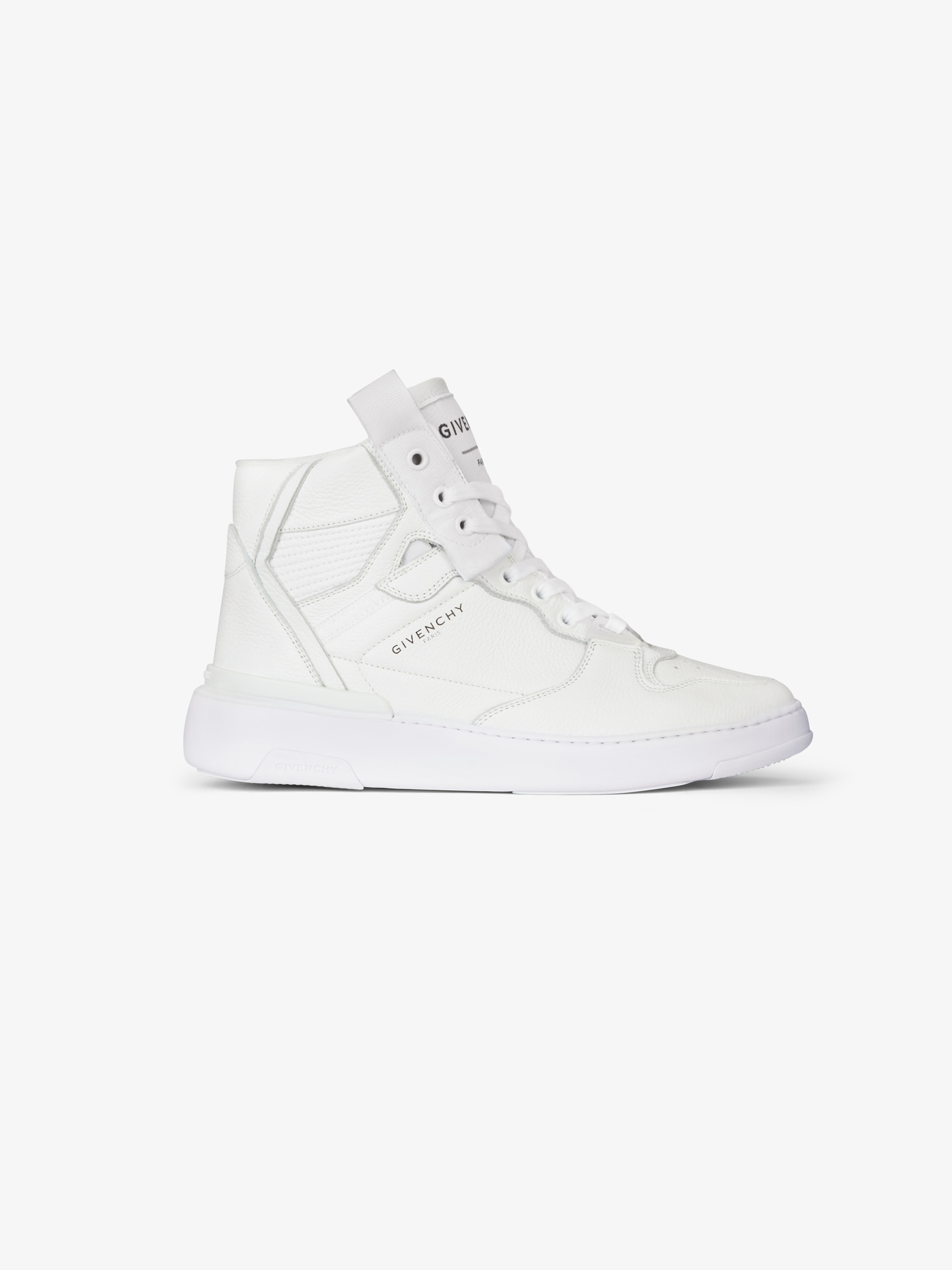 Sneakers montantes Wing en cuir