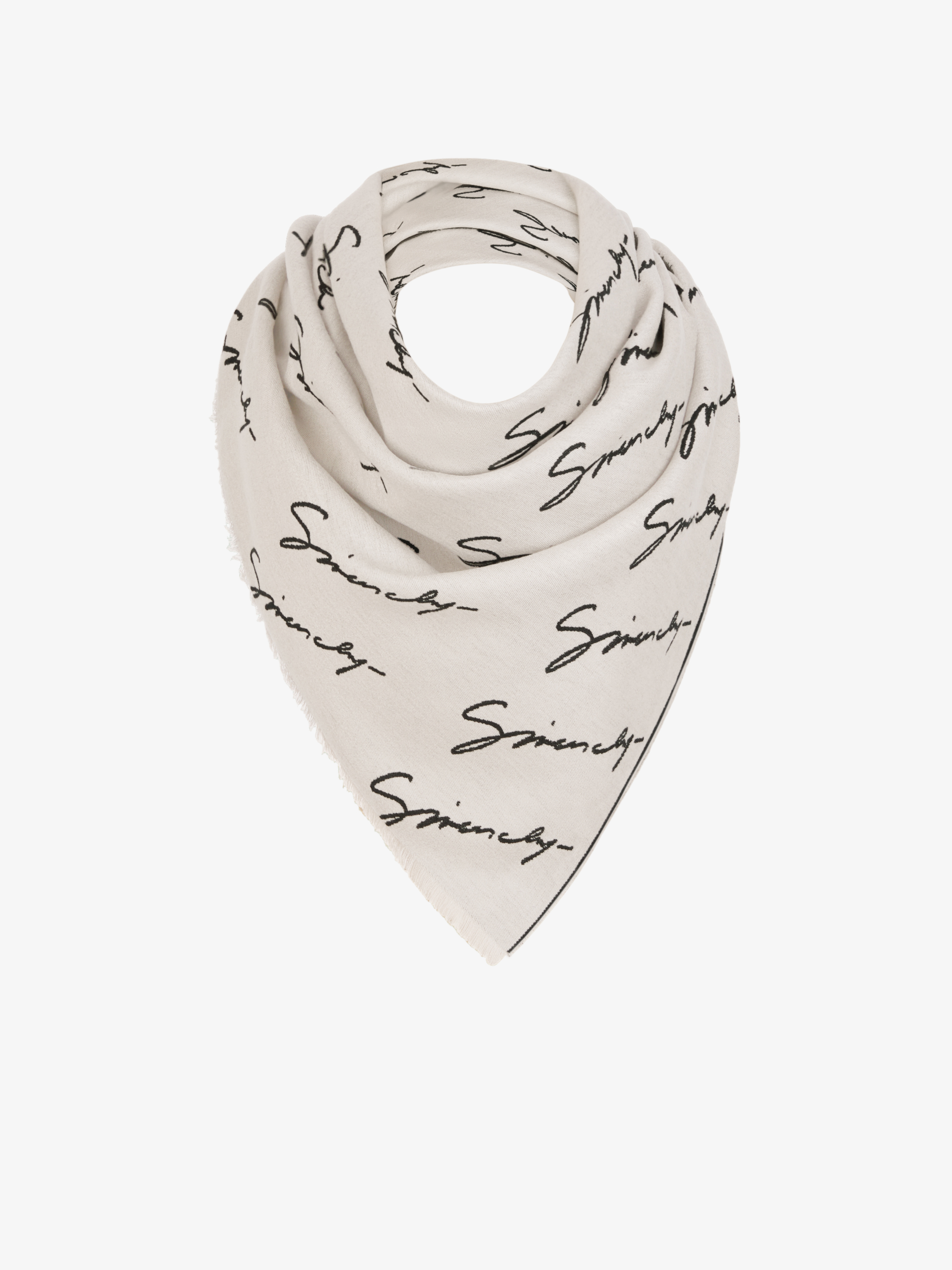 GIVENCHY large scarf in silk