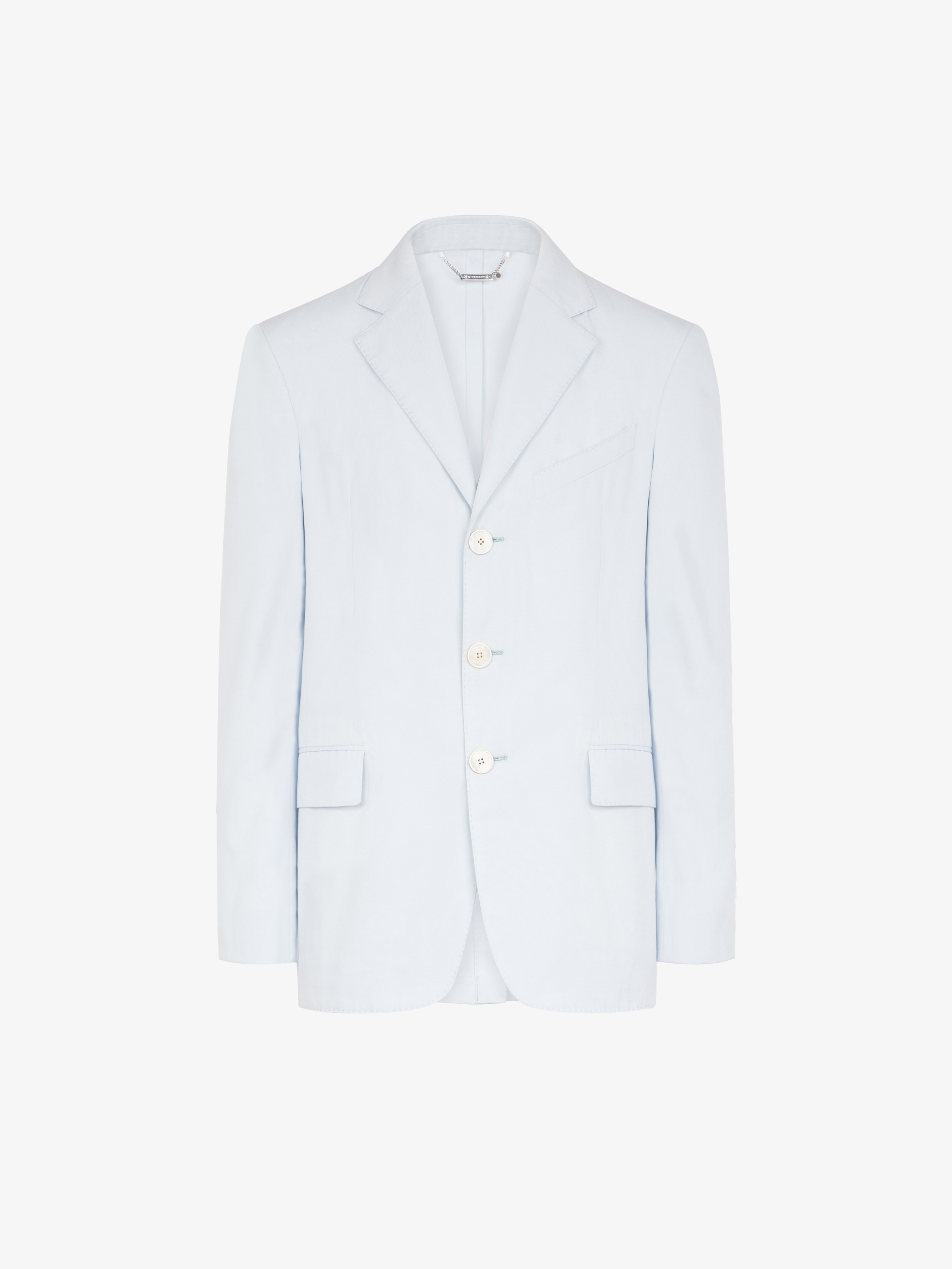Jacket in faille de coton