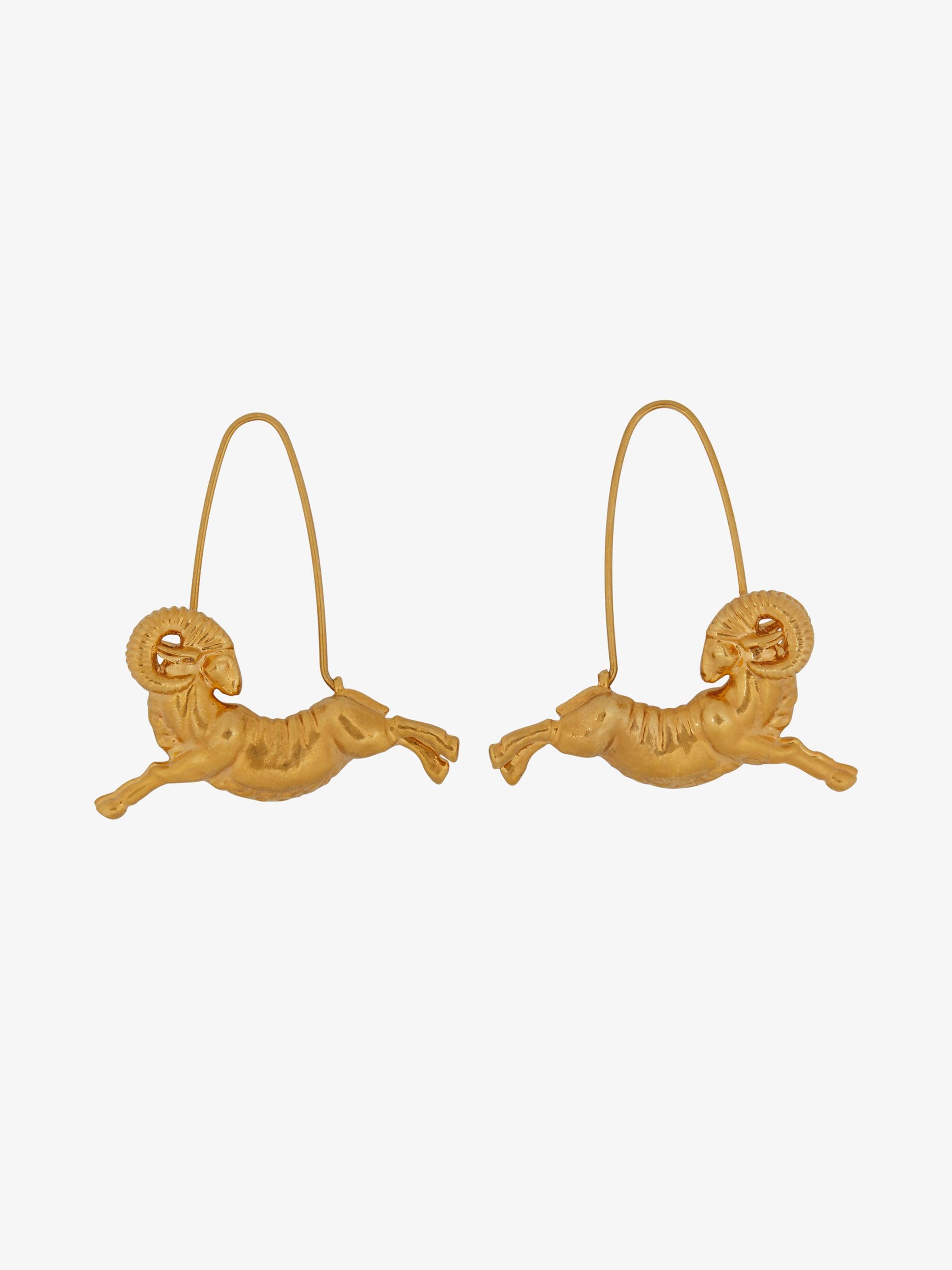 Boucles d'oreilles Zodiaque Bélier