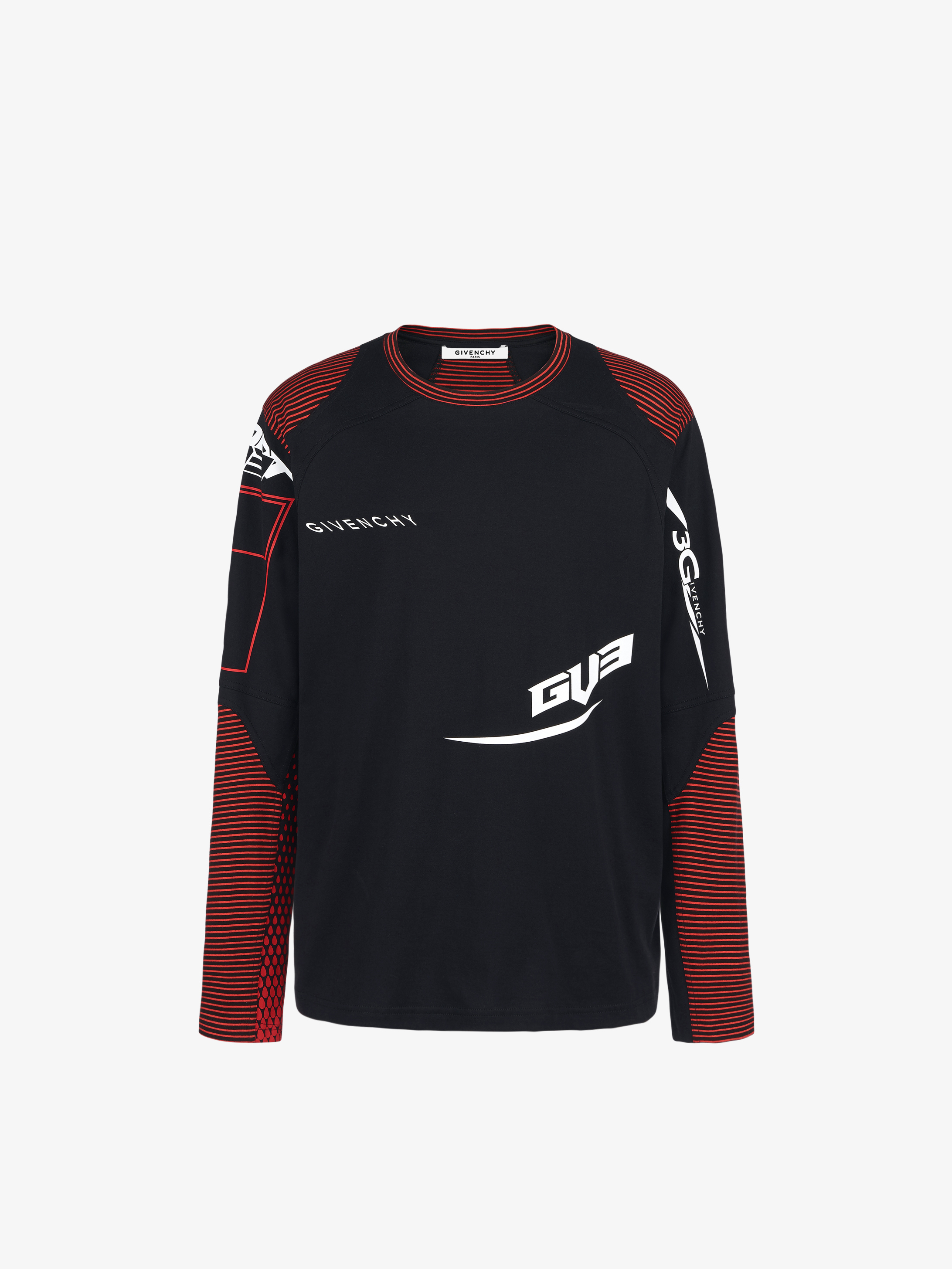 GIVENCHY Sport slim long sleeves T-shirt