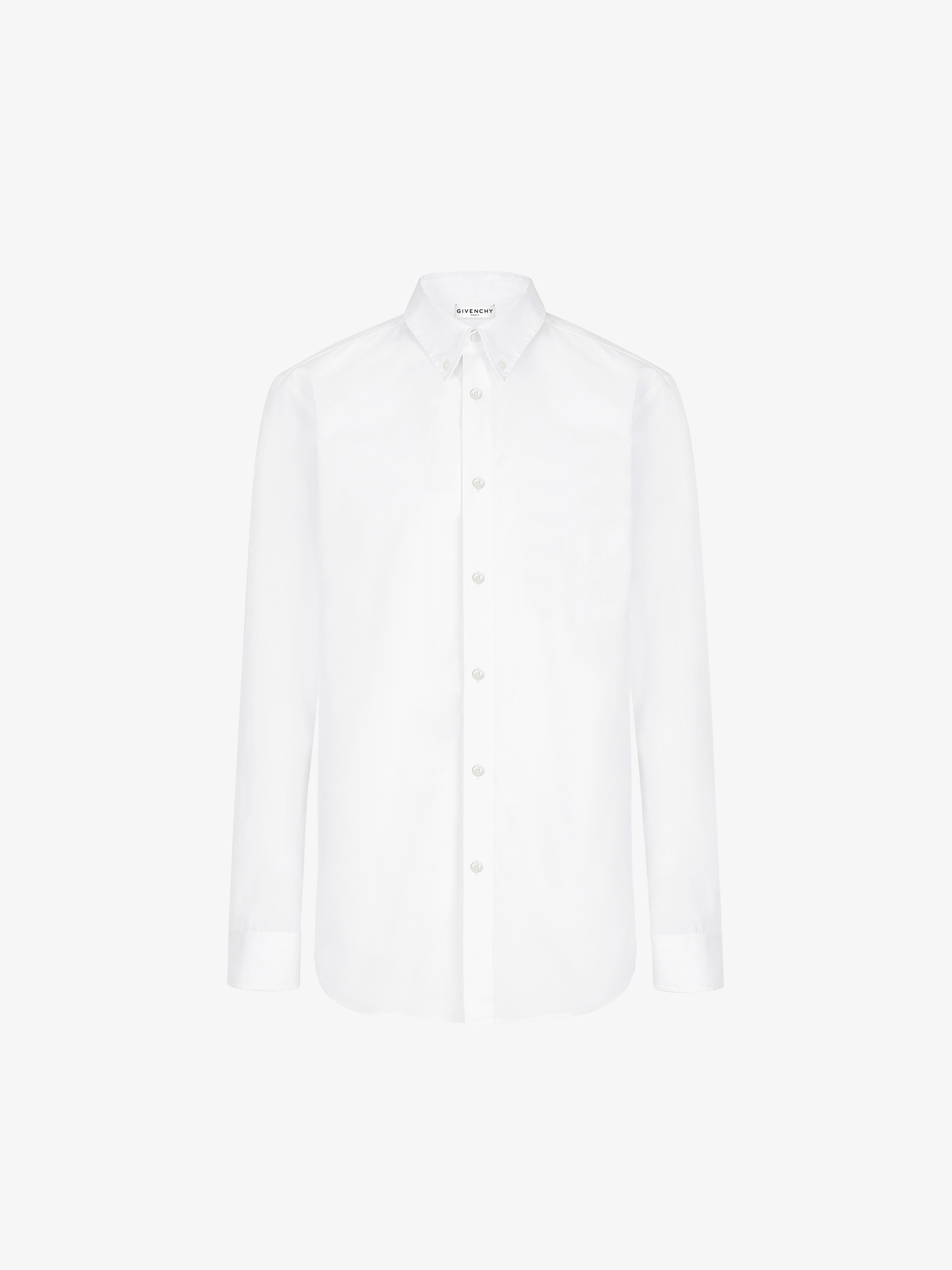 GIVENCHY shirt in oxford with patch