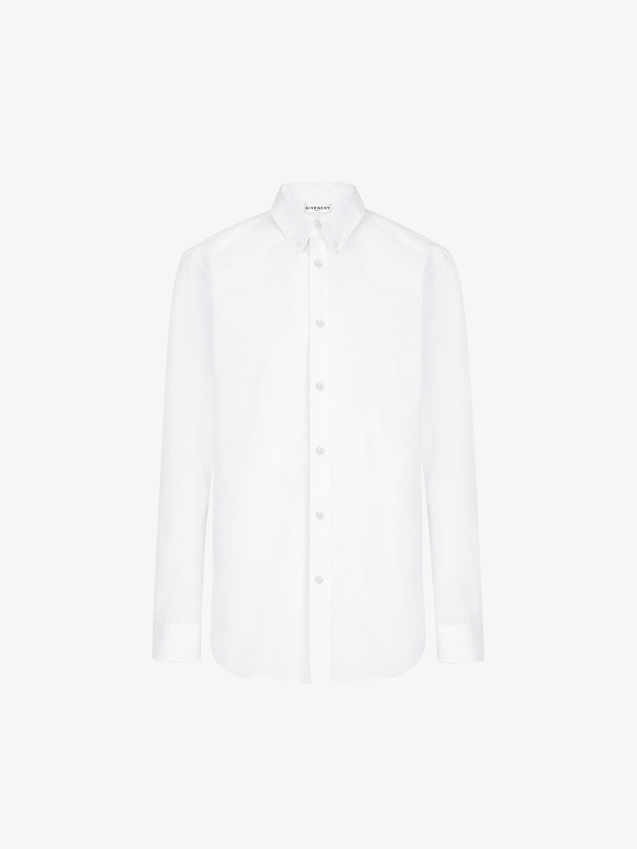 Camicia Oxford con applicazione GIVENCHY