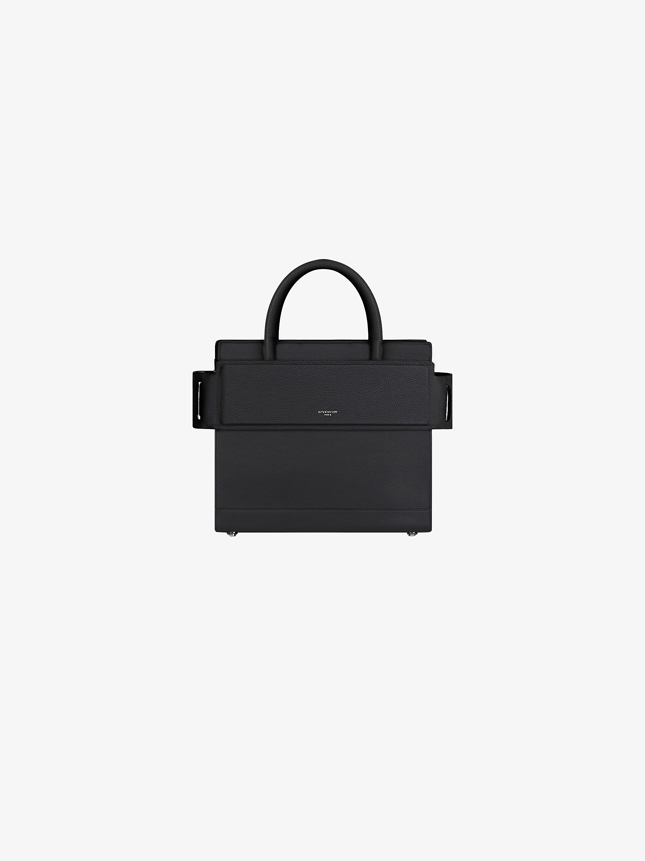 Mini Horizon bag in grained leather