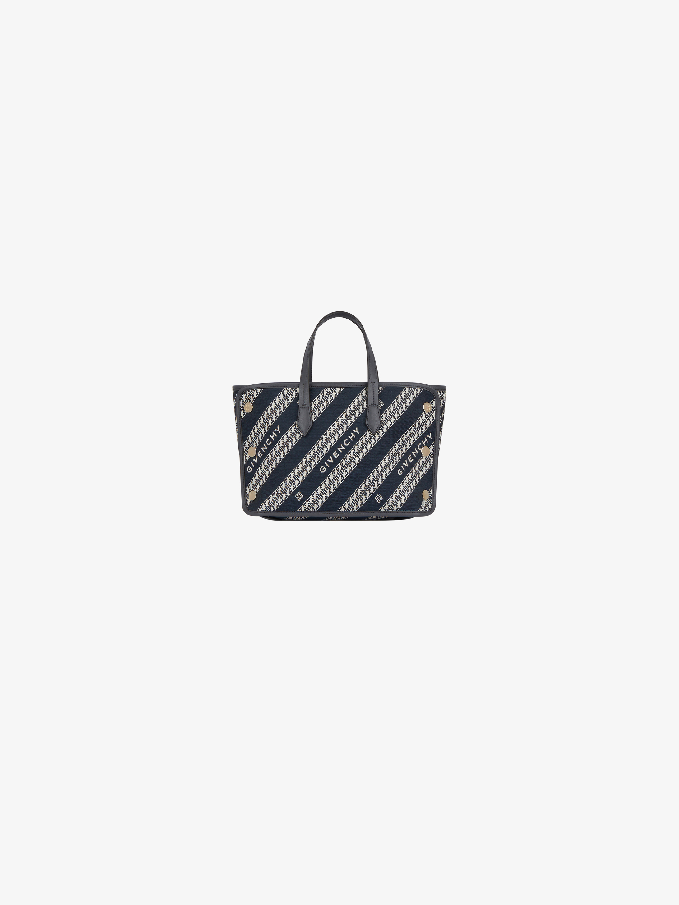 Mini BOND shopper in GIVENCHYcanvas chain jacquard