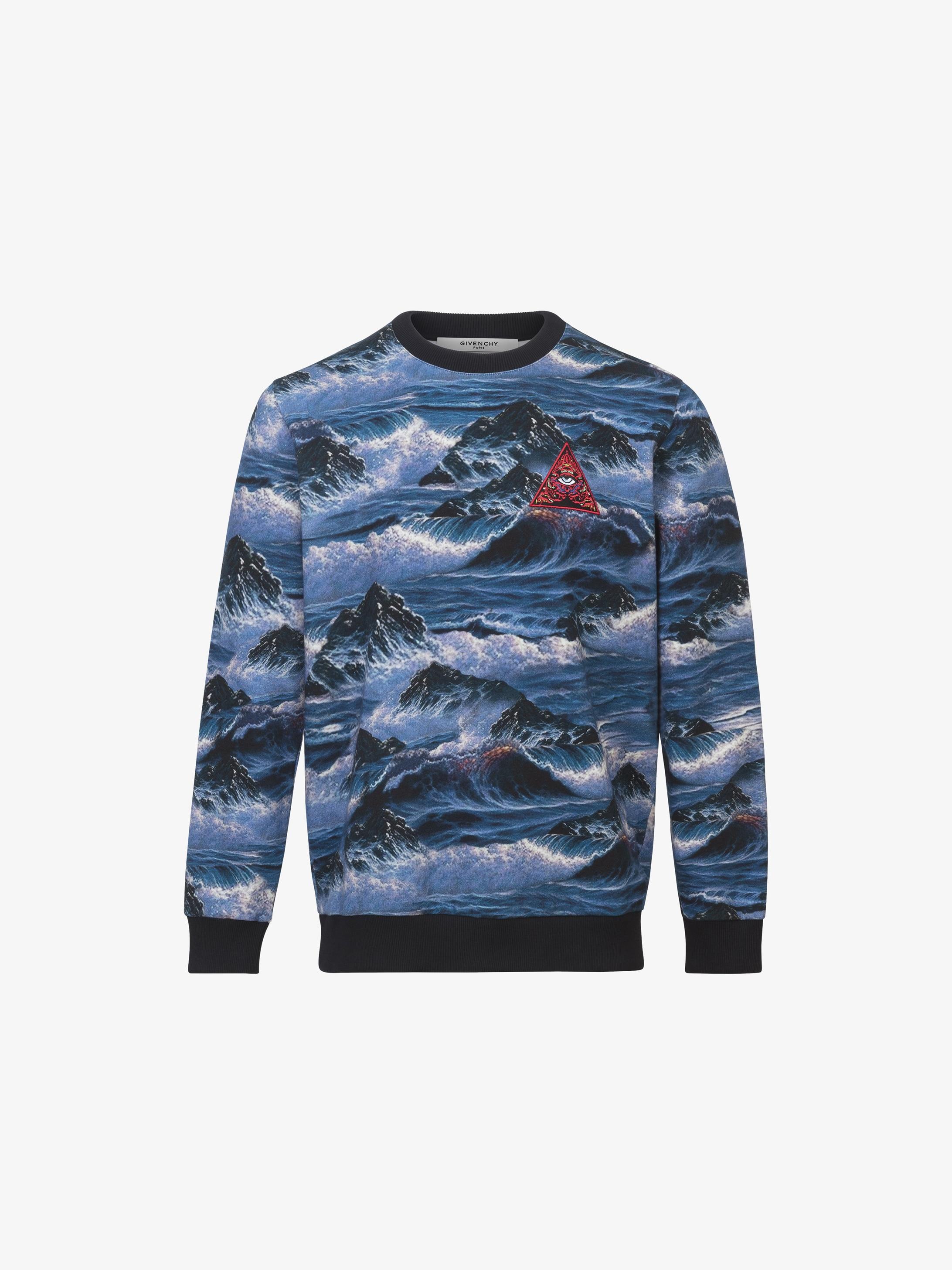 Hawaï printed sweatshirt in felpa