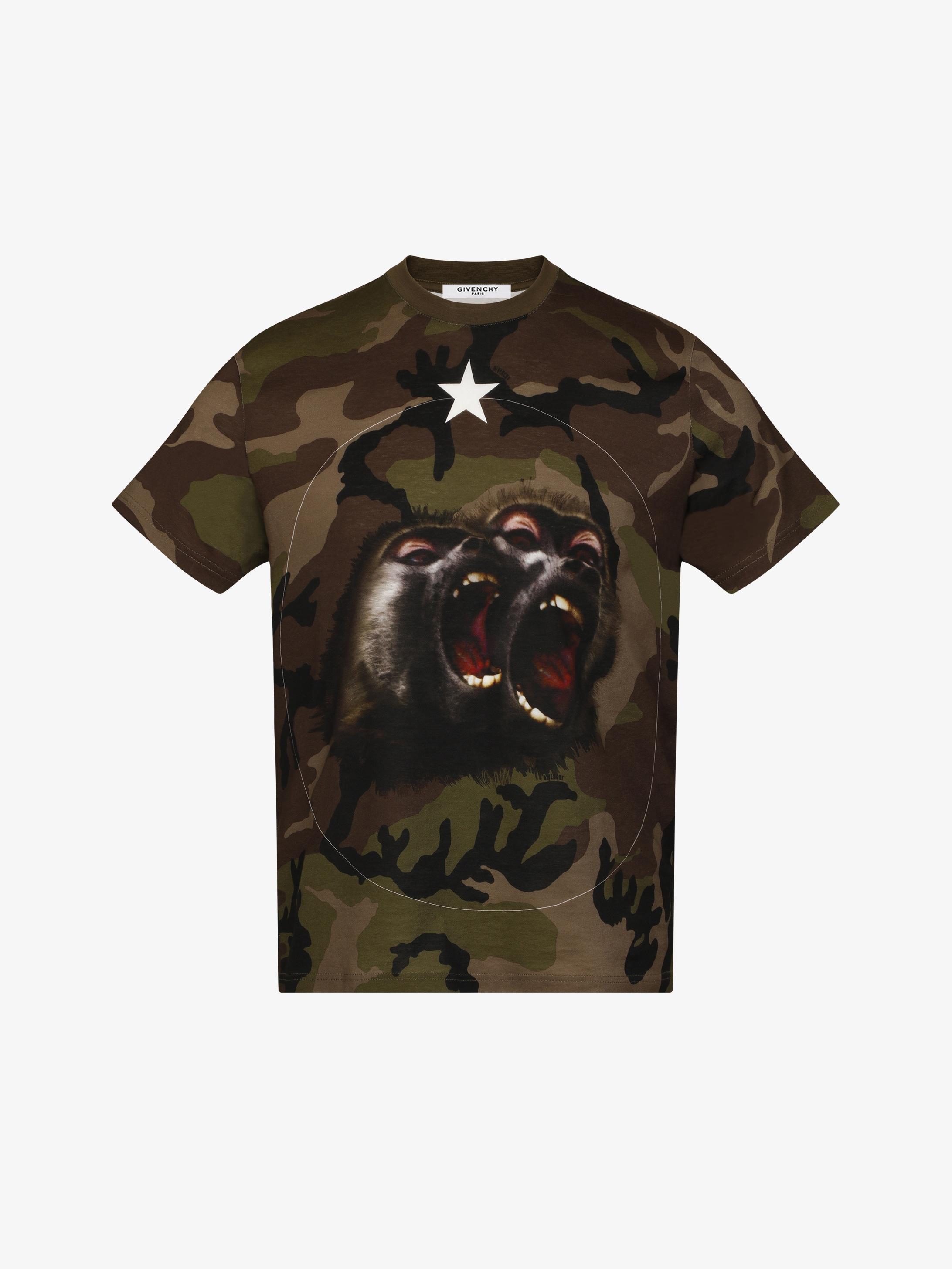 Camo printed t-shirt