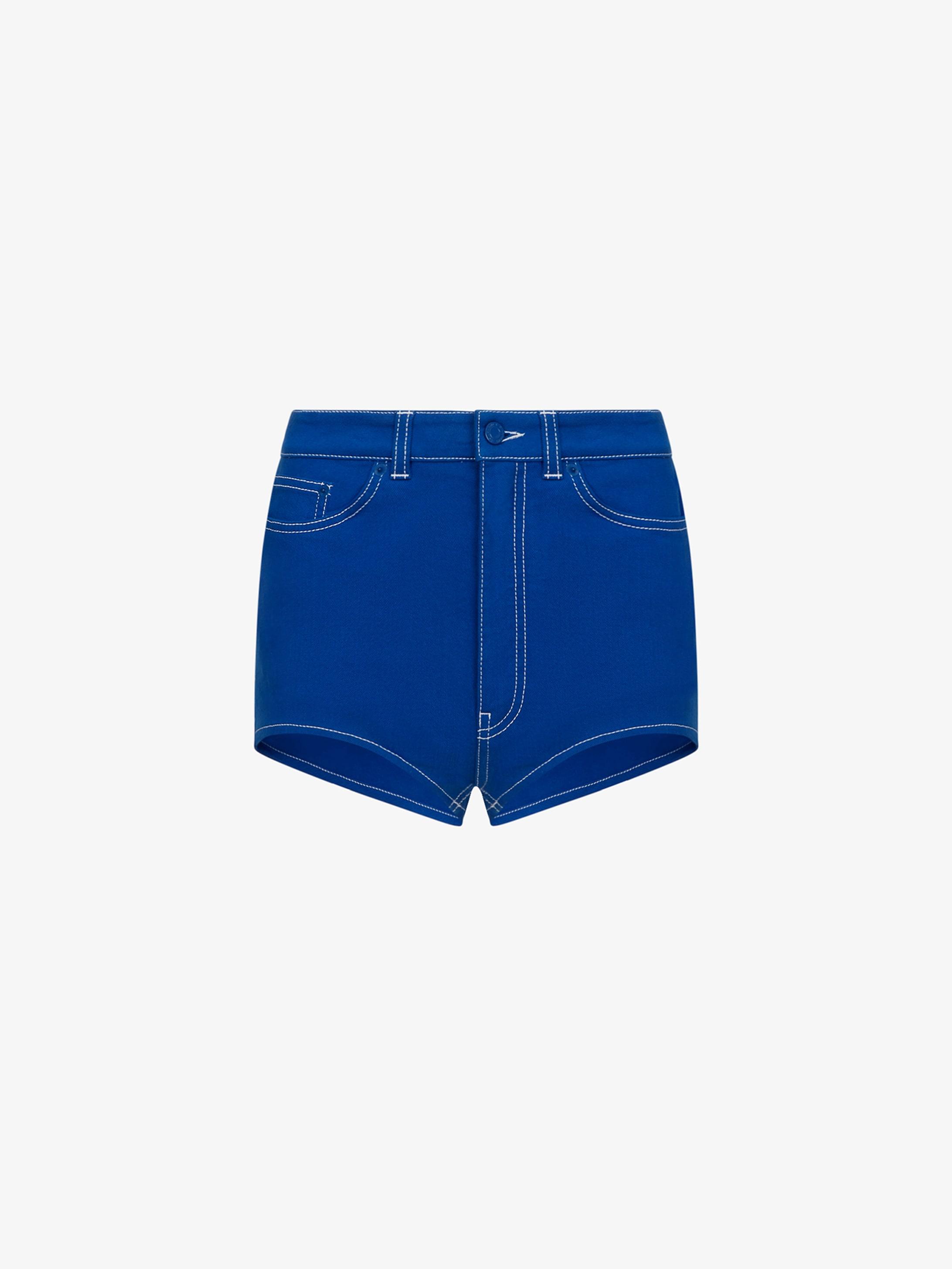 GIVENCHY PARIS denim short pants