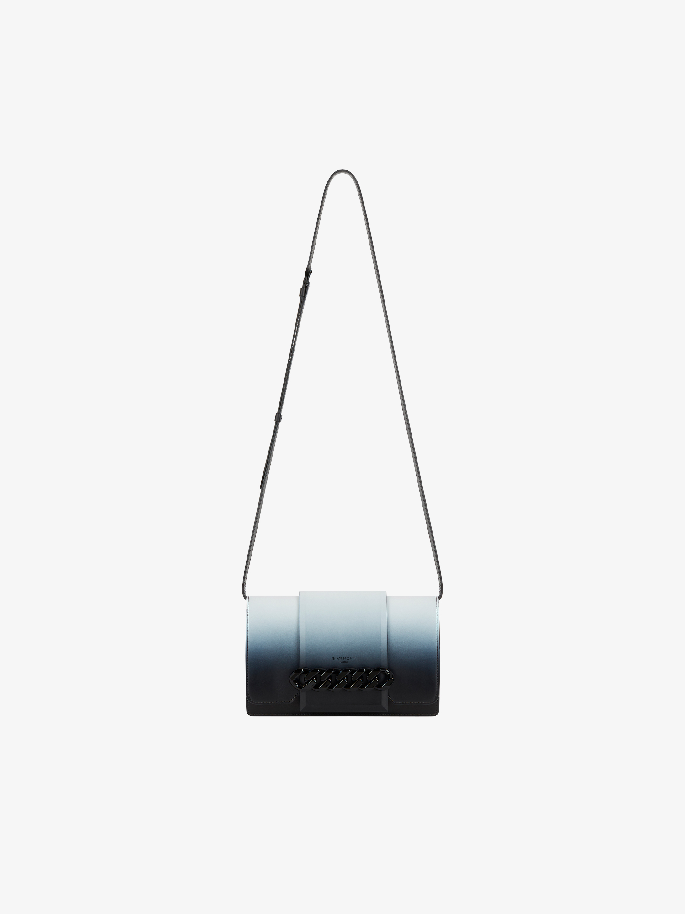 Small Infinity flap bag  in grained leather